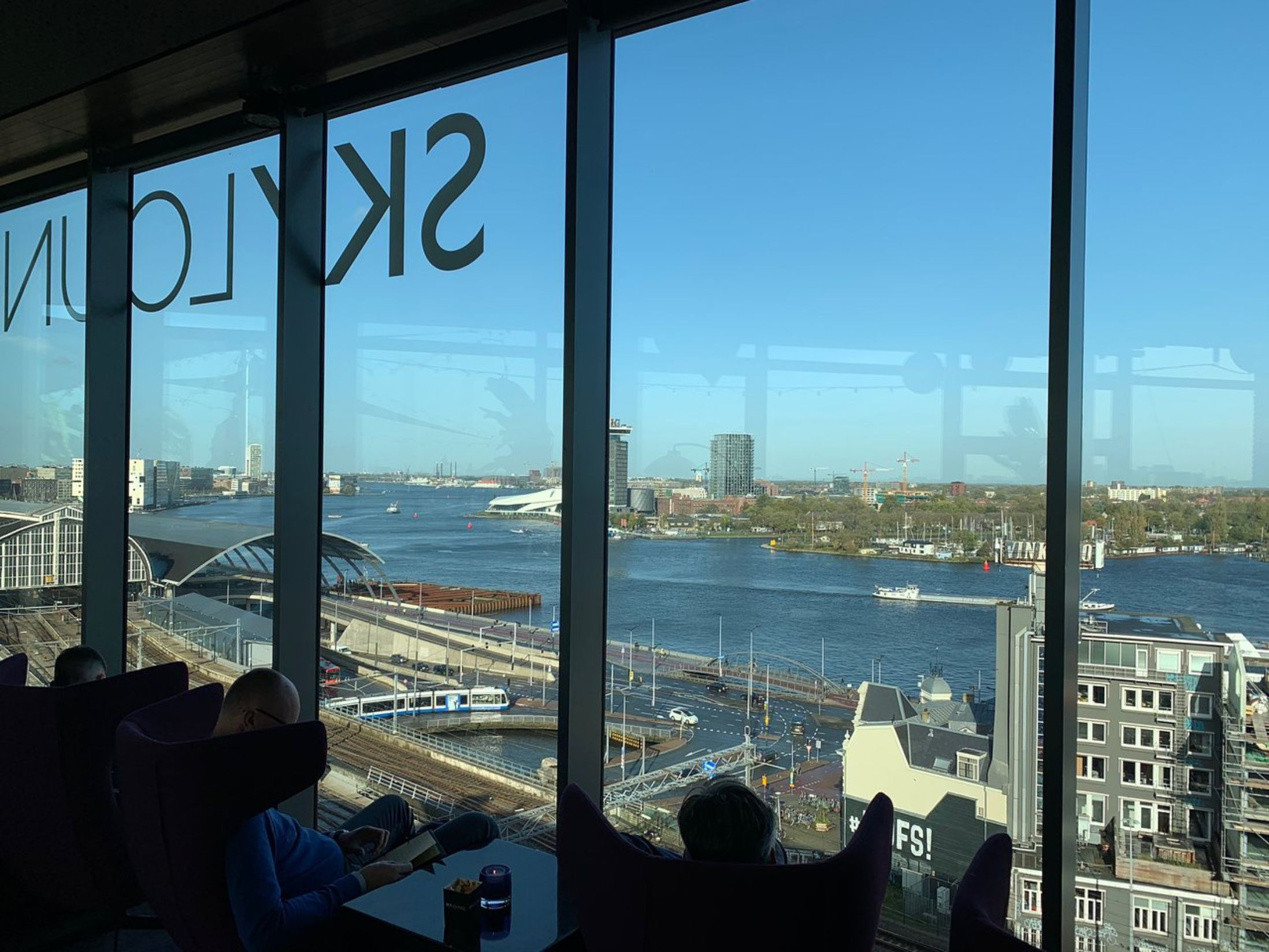 Best Bars in Amsterdam - Sky Lounge