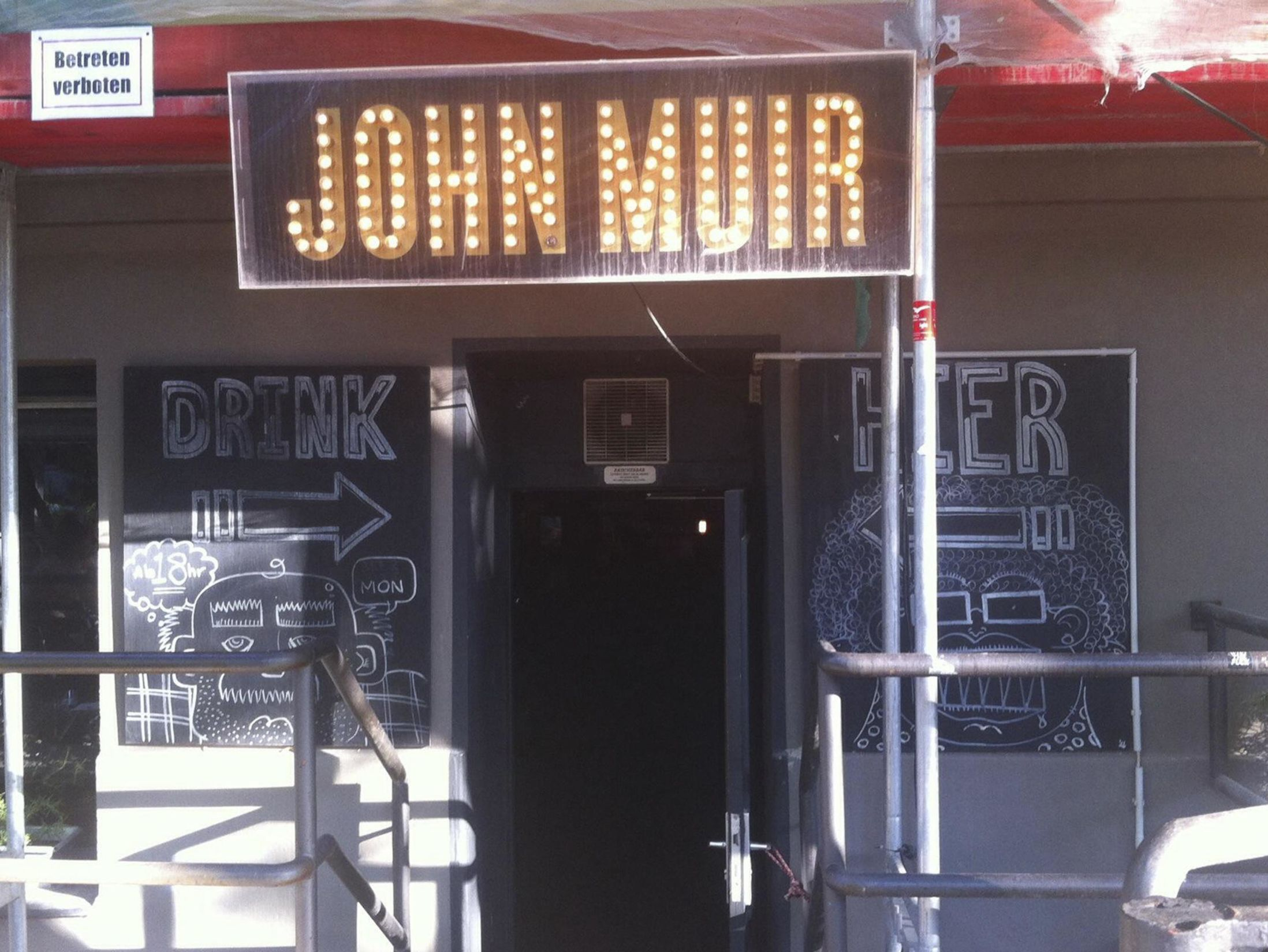 Best Bars in Berlin - John Muir