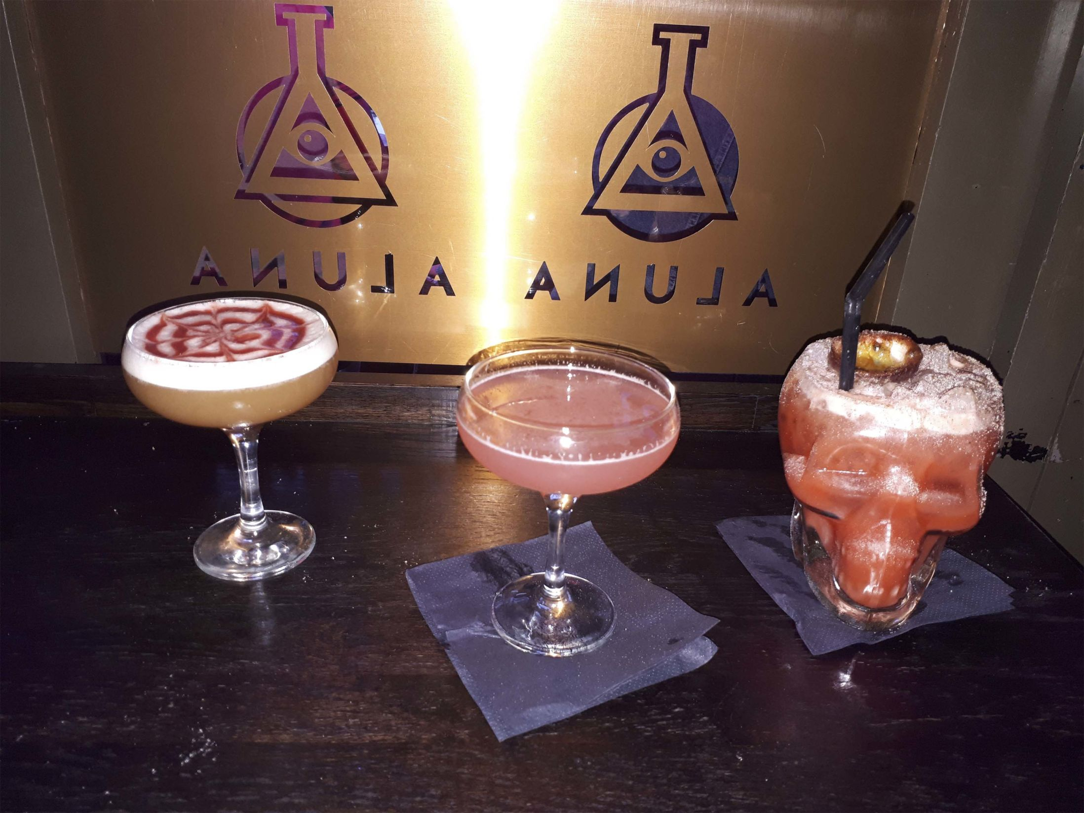 Best Bars in Birmingham - Aluna