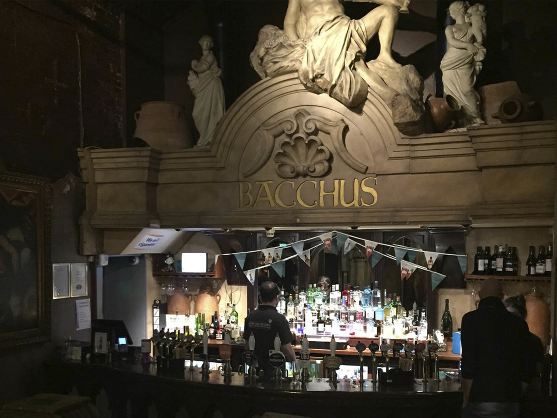 Best Bars in Birmingham - Bacchus Bar