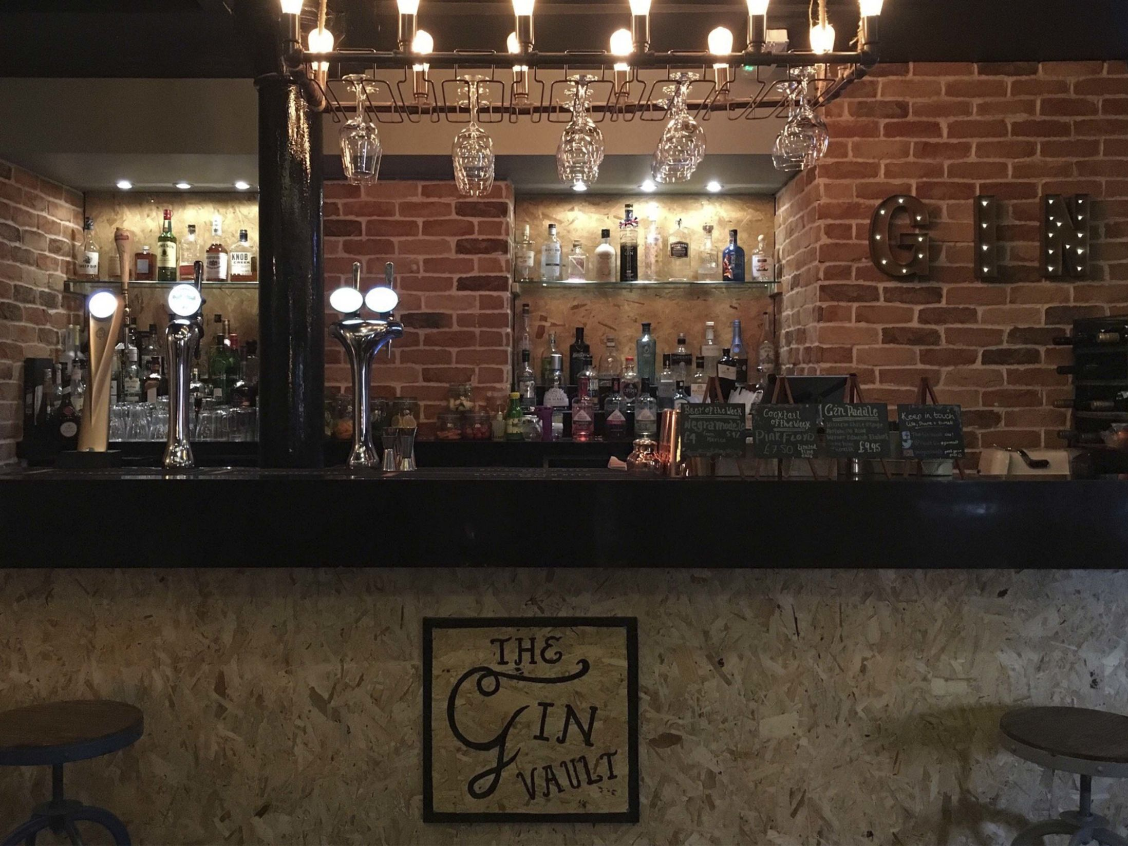 Best Bars in Birmingham - The Gin Vault