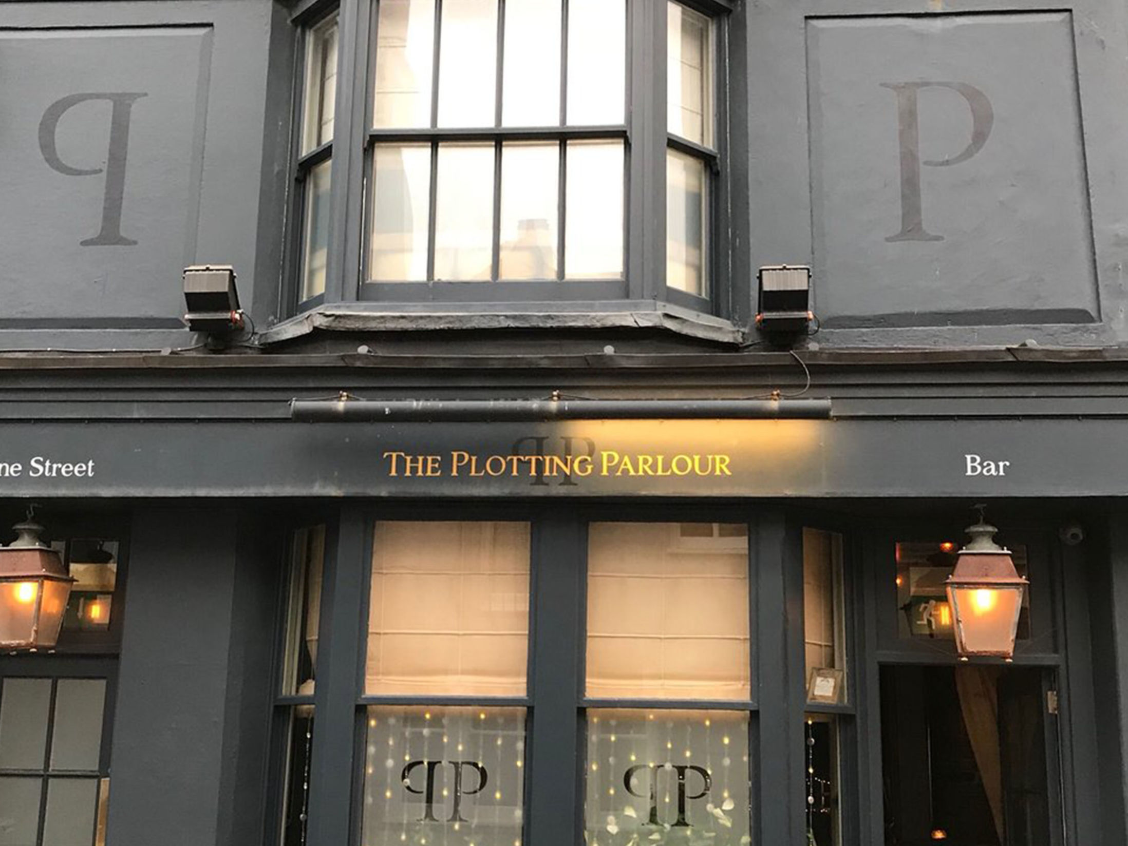 Best Bars in Brighton - The Plotting Parlour