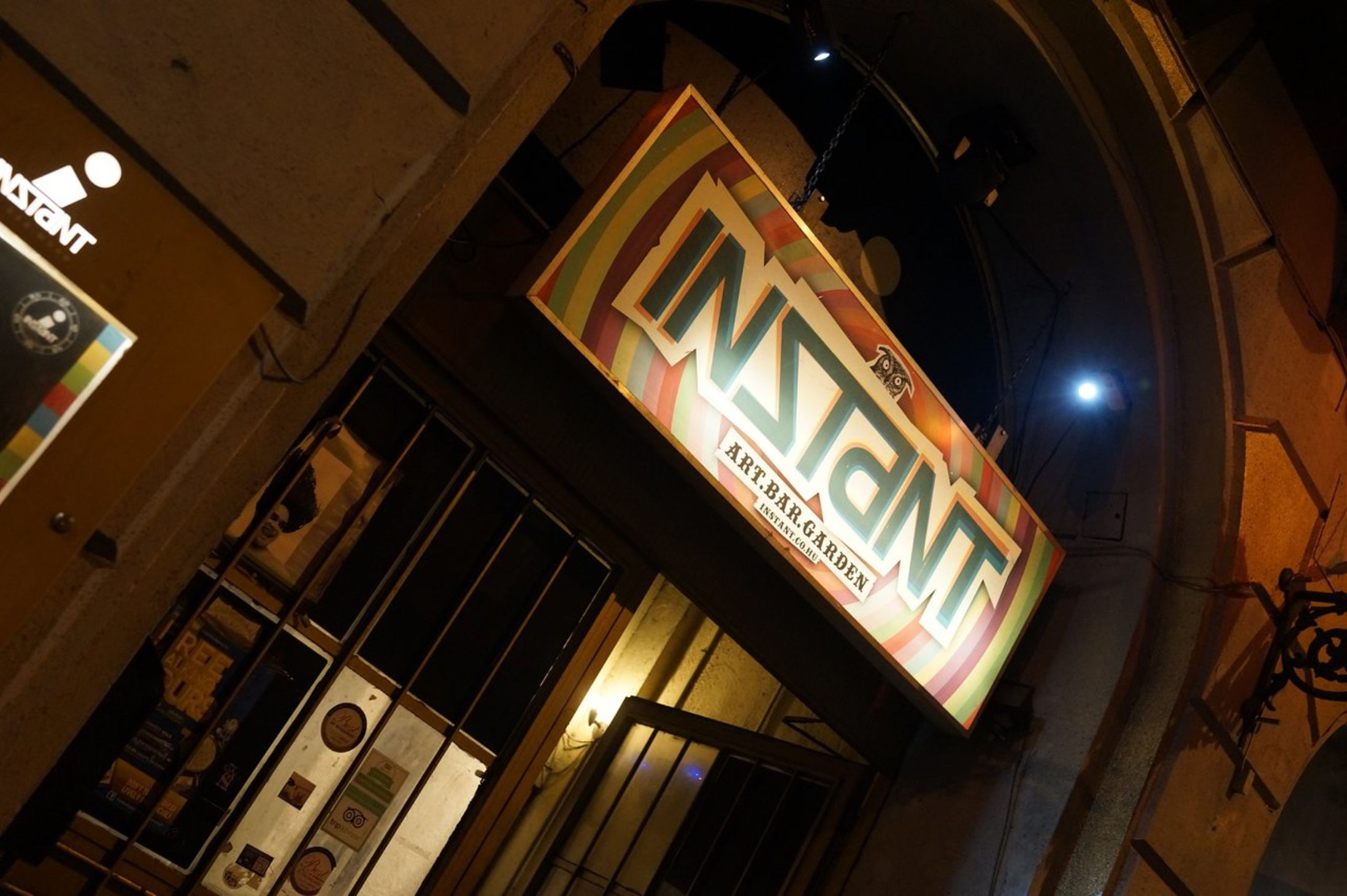 Best Bars in Budapest - Instant and Fogas