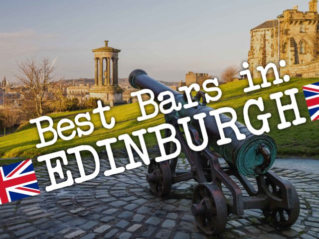 Best Bars in: Edinburgh