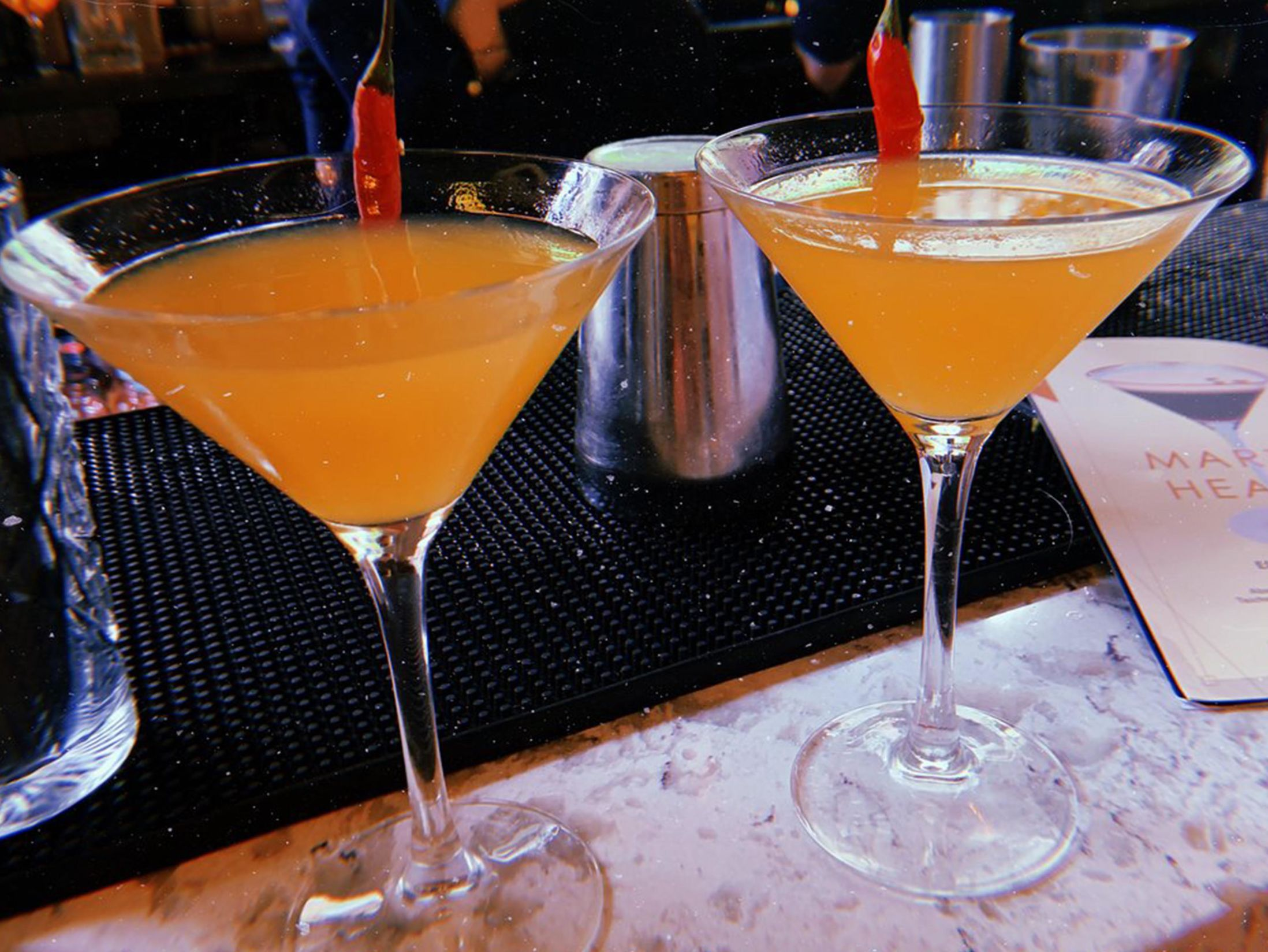 Best Bars in Leeds - Dirty Martini