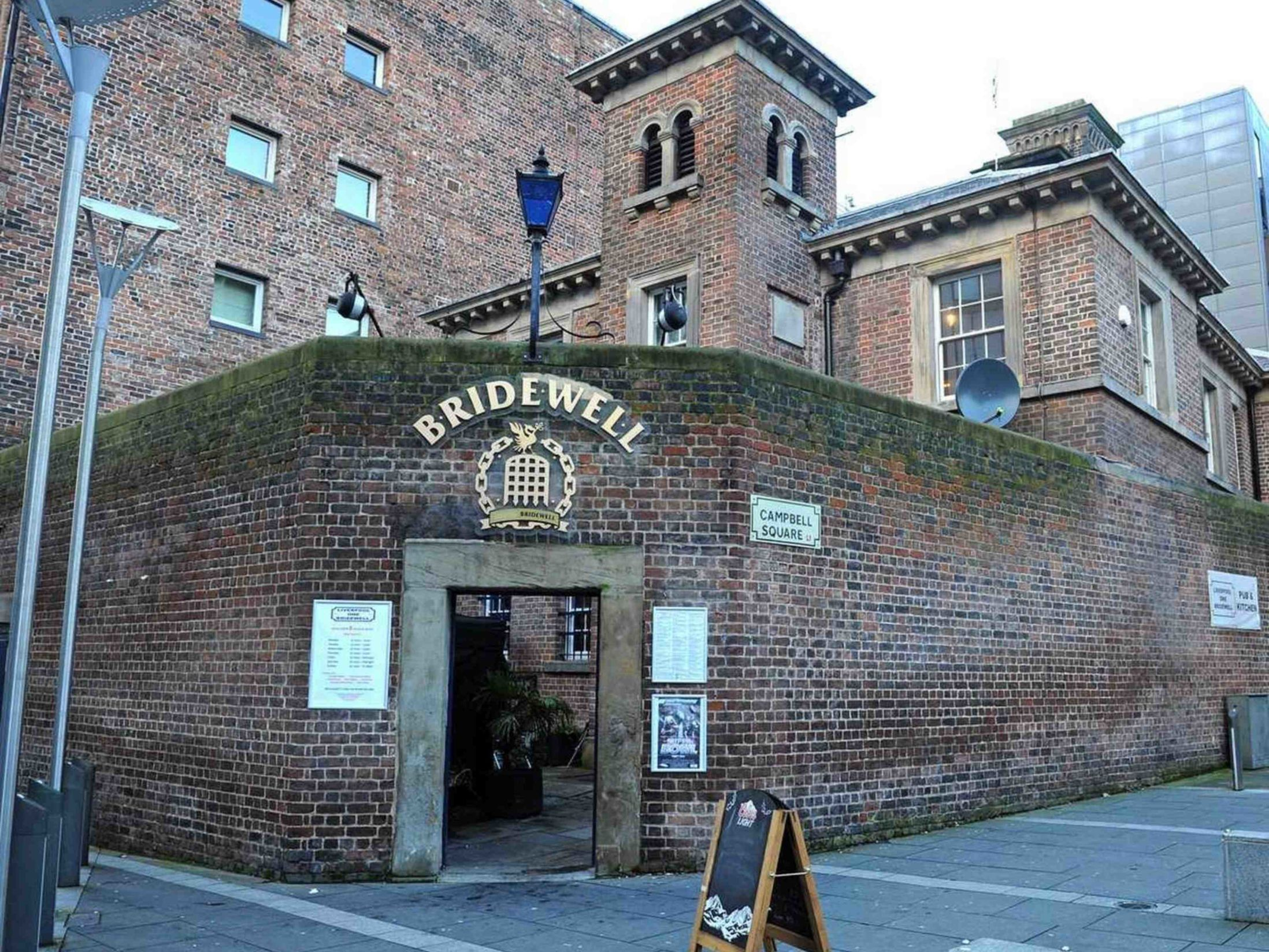 Best Bars in Liverpool - The Bridewell