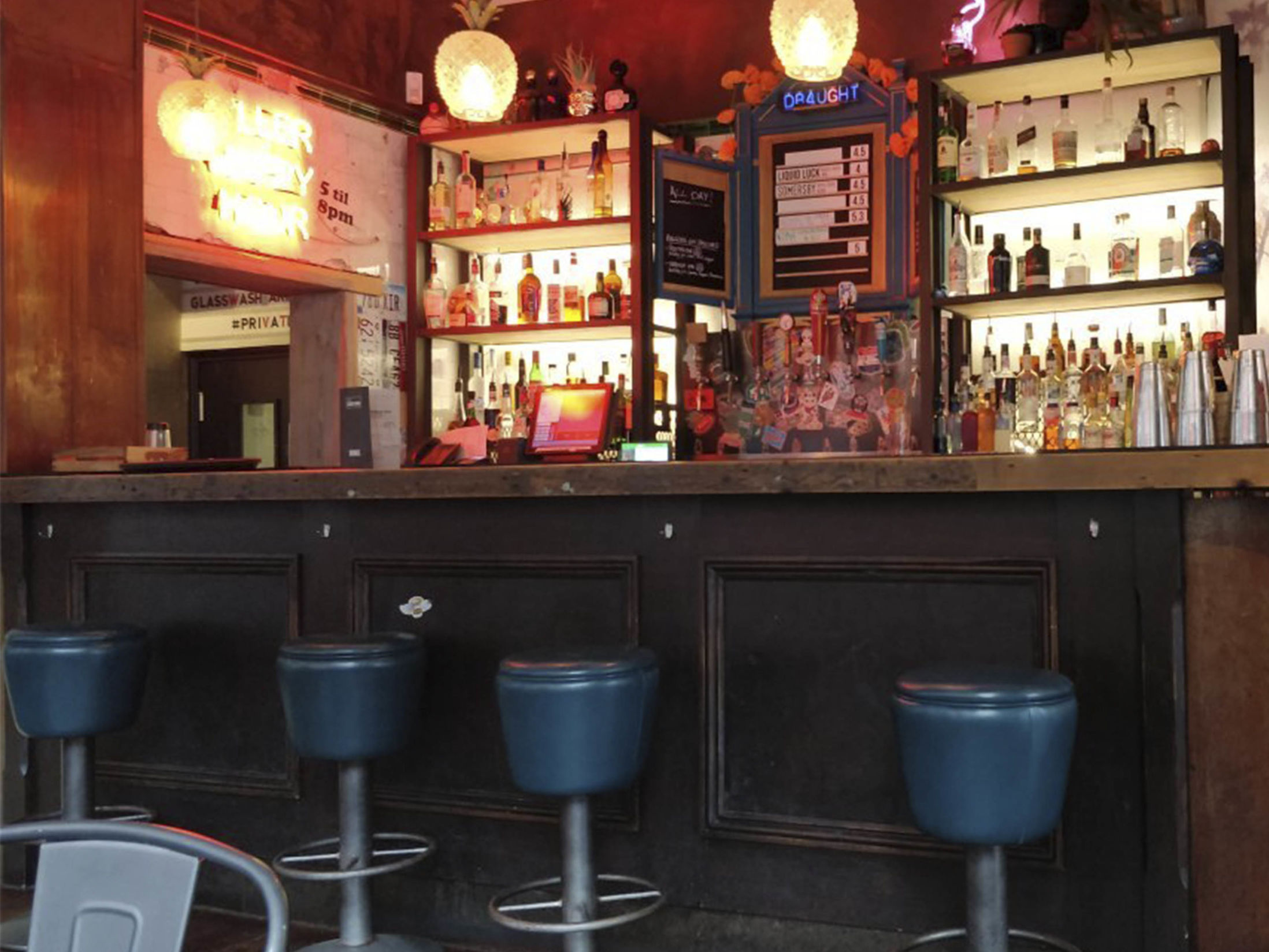 Best Bars in Manchester - Luck, Lust, Liquor & Burn