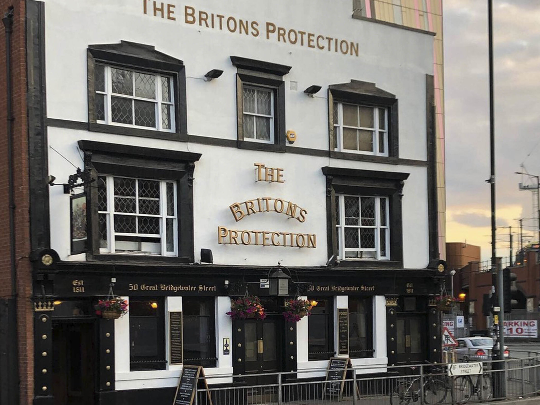 Best Bars in Manchester - The Britons Protection