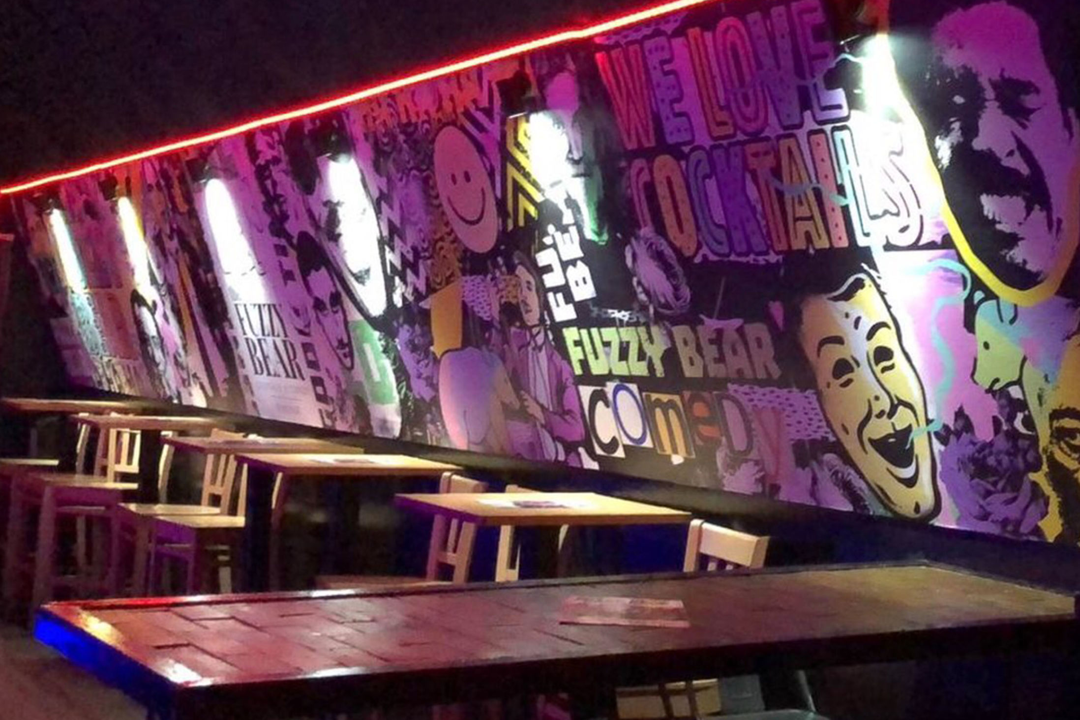 Best Bars in Windsor - The Fuzzy Bear