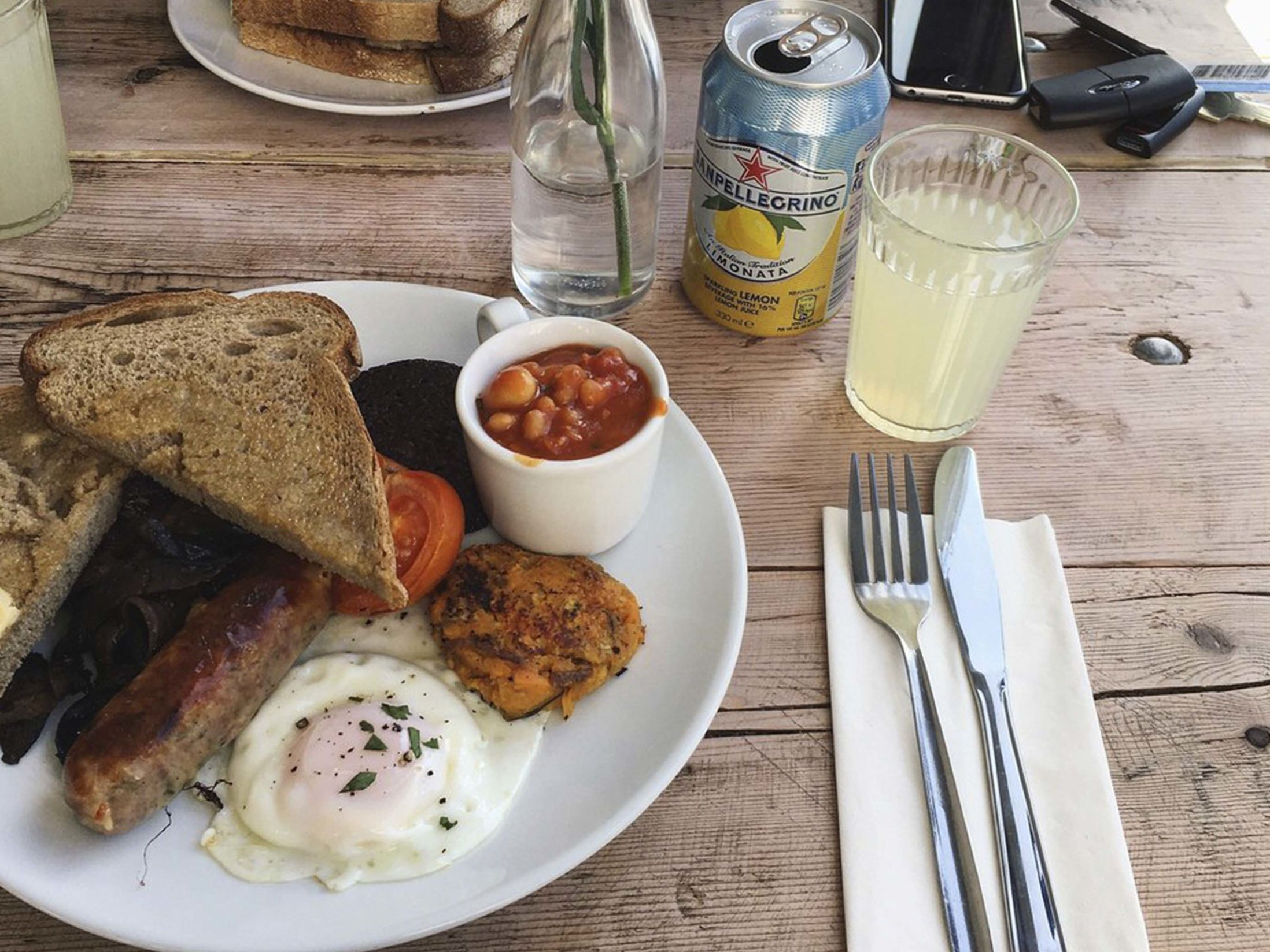 Best Breakfast in Liverpool - Naked Lunch Cafe