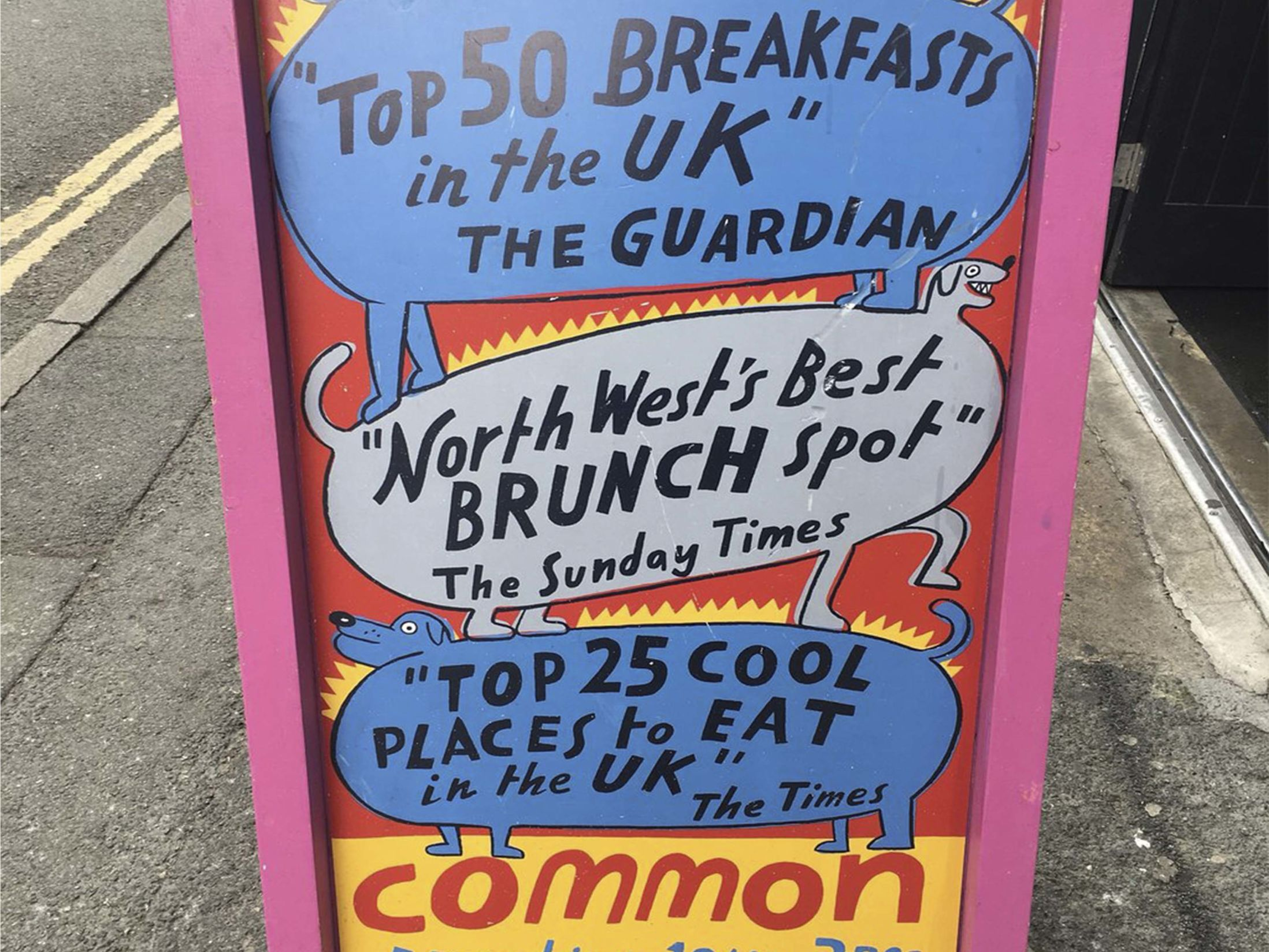 Best Breakfast in Manchester - Common