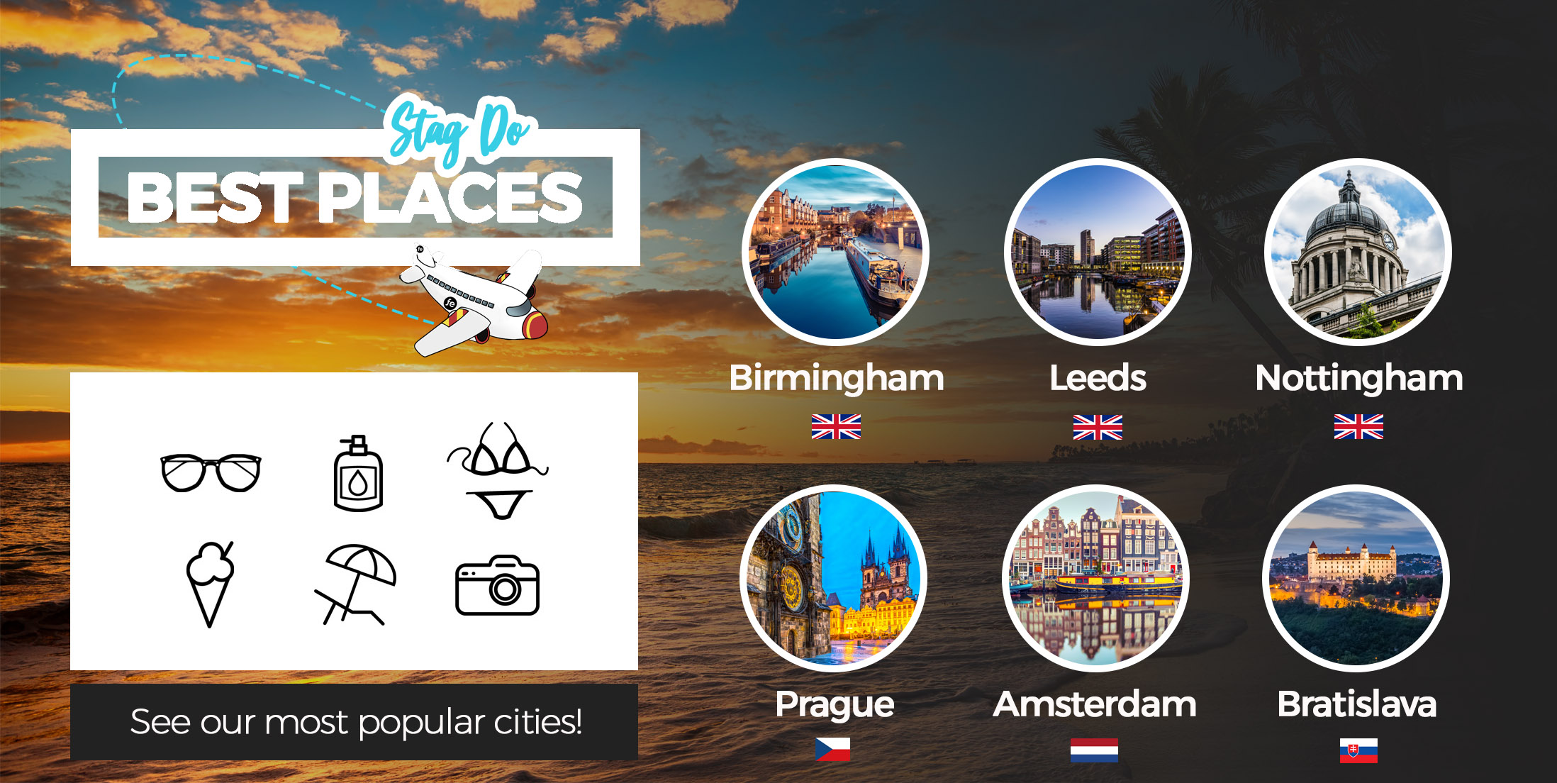 Best Places for Stag Do | See Our Most Popular Cities