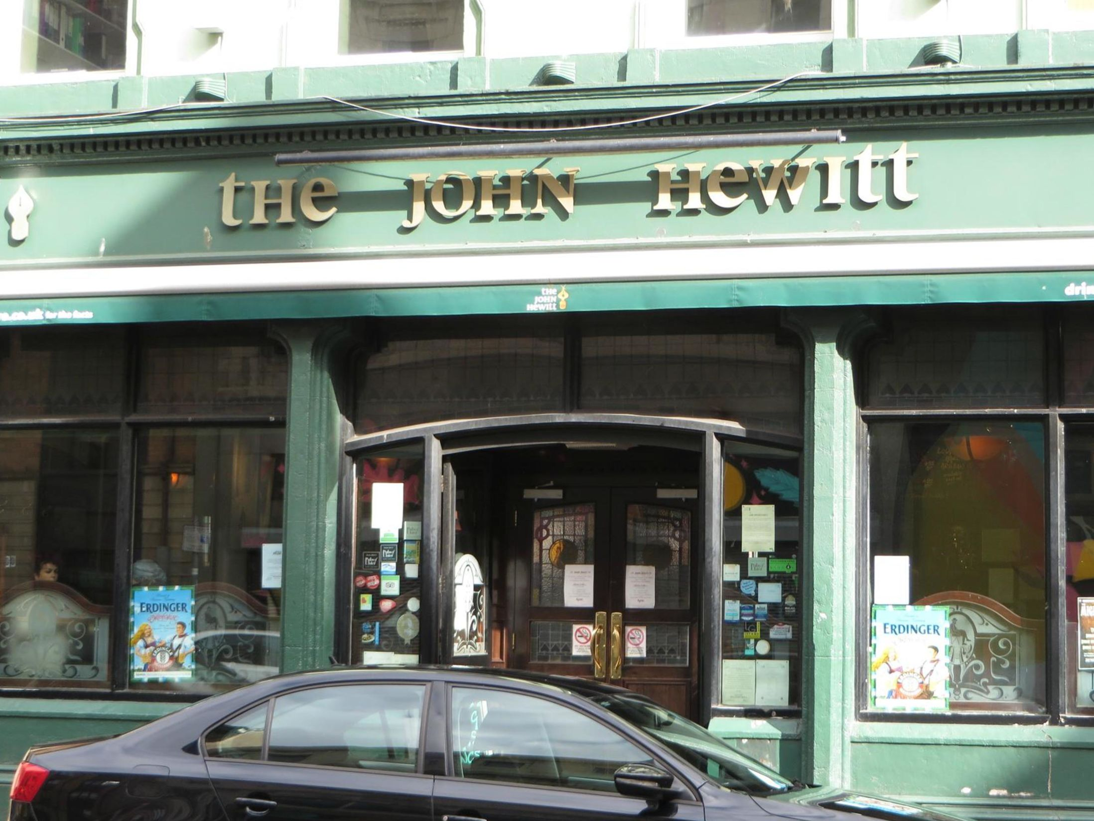 Best Pubs in Belfast - The John Hewitt