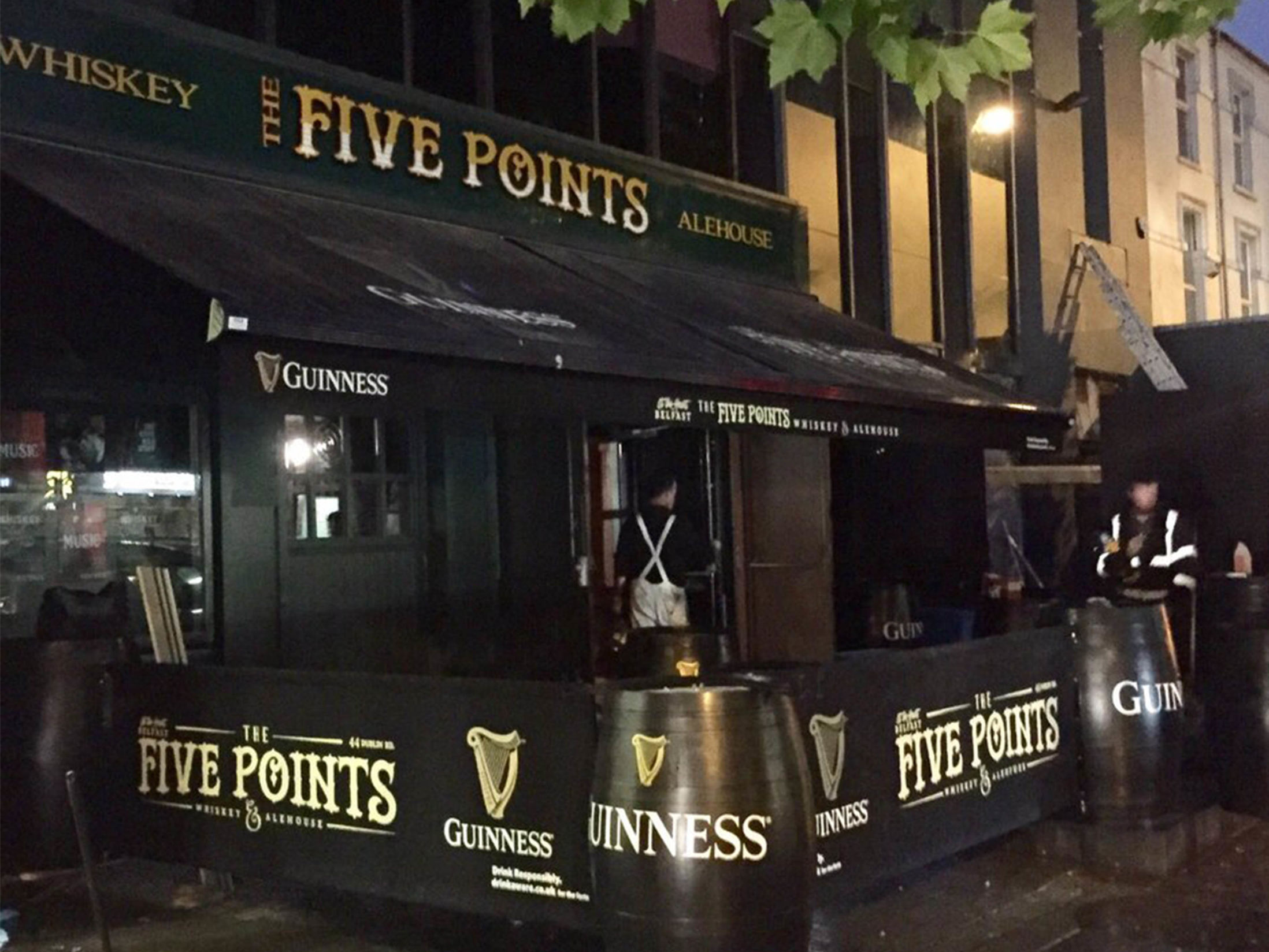 Best Pubs in Belfast - The Points