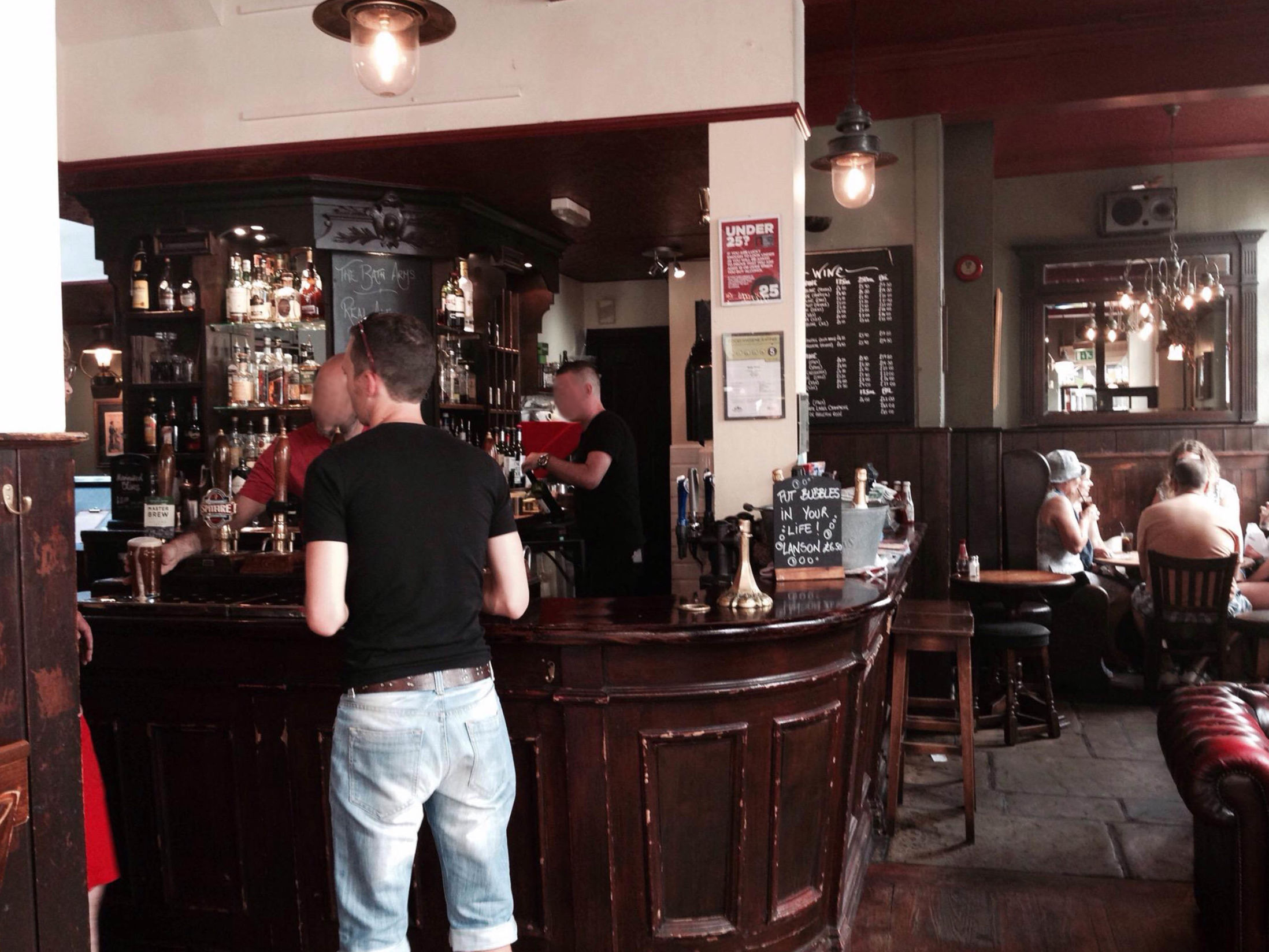 Best Pubs in Brighton - The Bath Arms