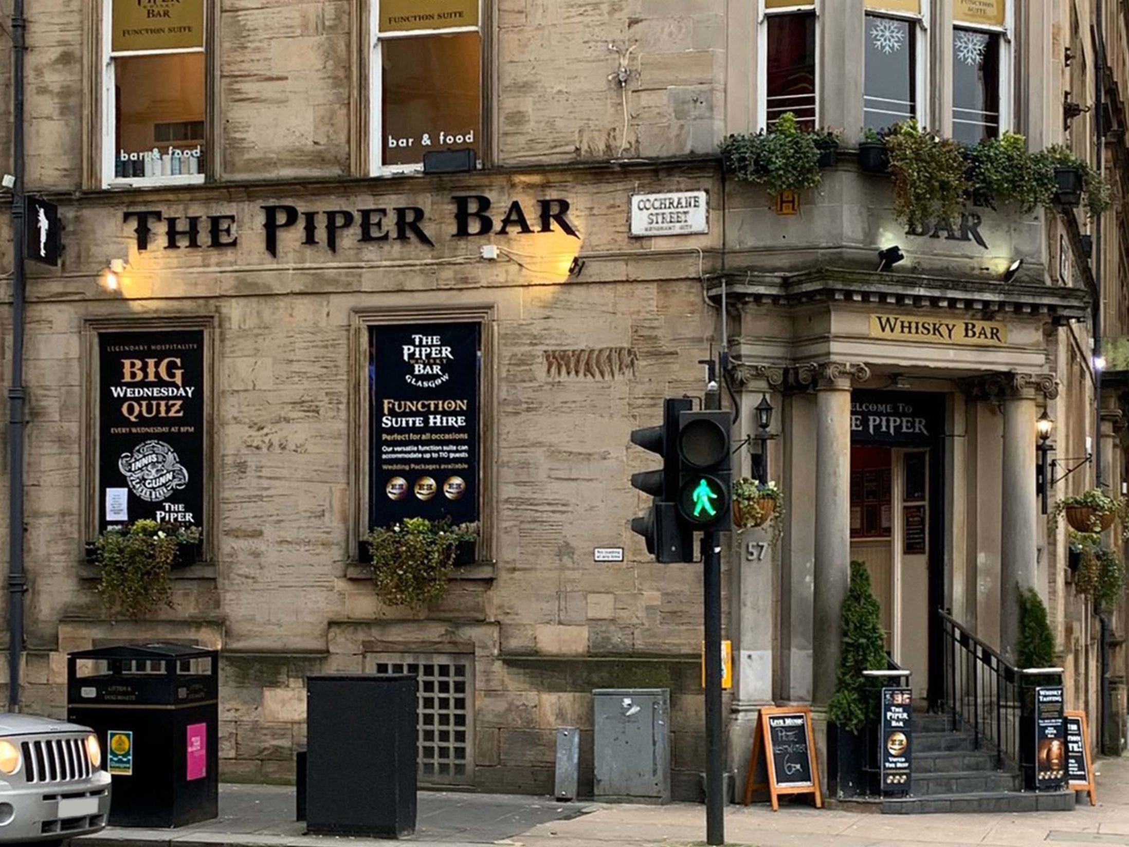 Best Pubs in Glasgow - The Piper Whisky Bar