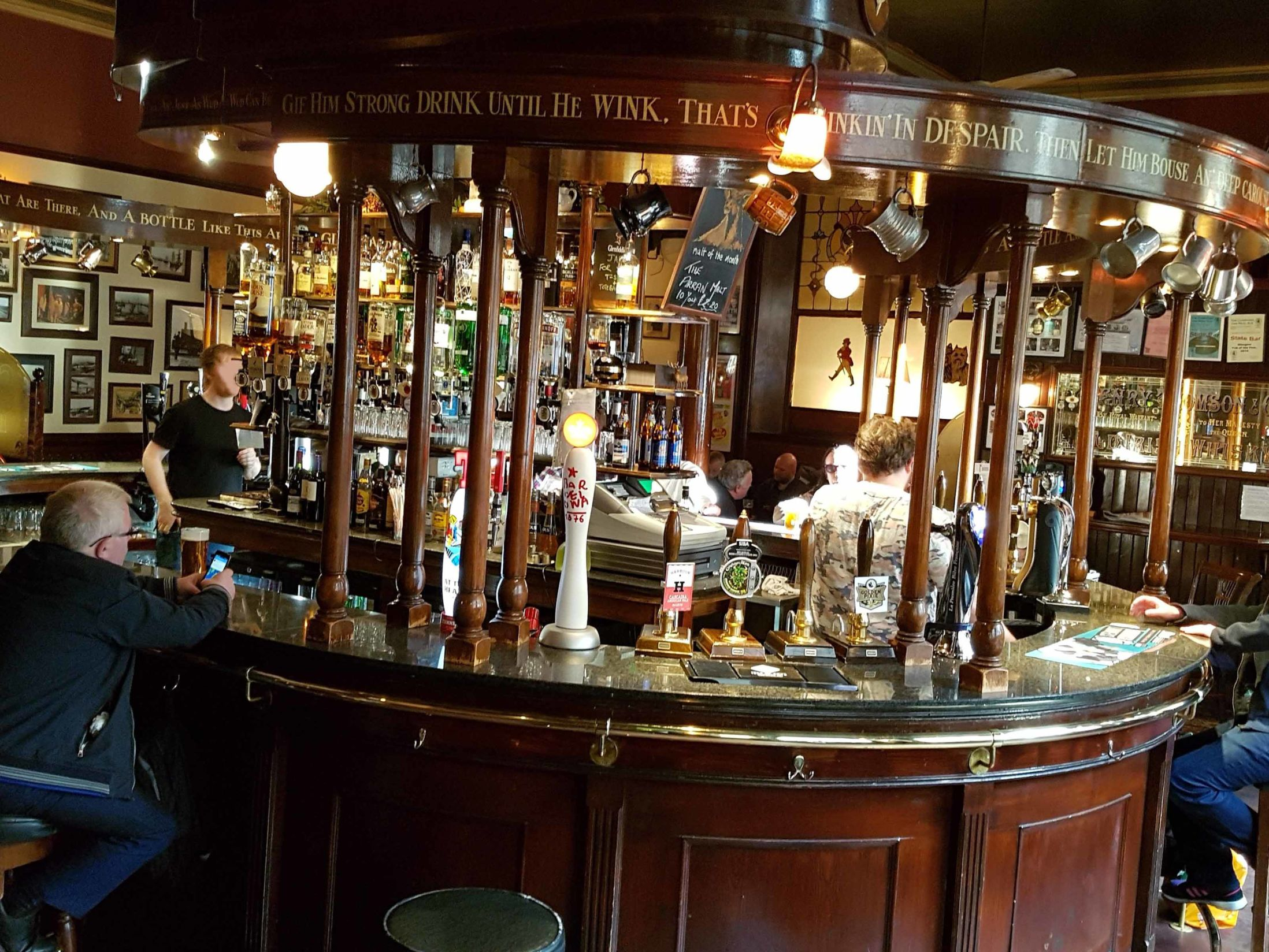 Best Pubs in Glasgow - The State Bar