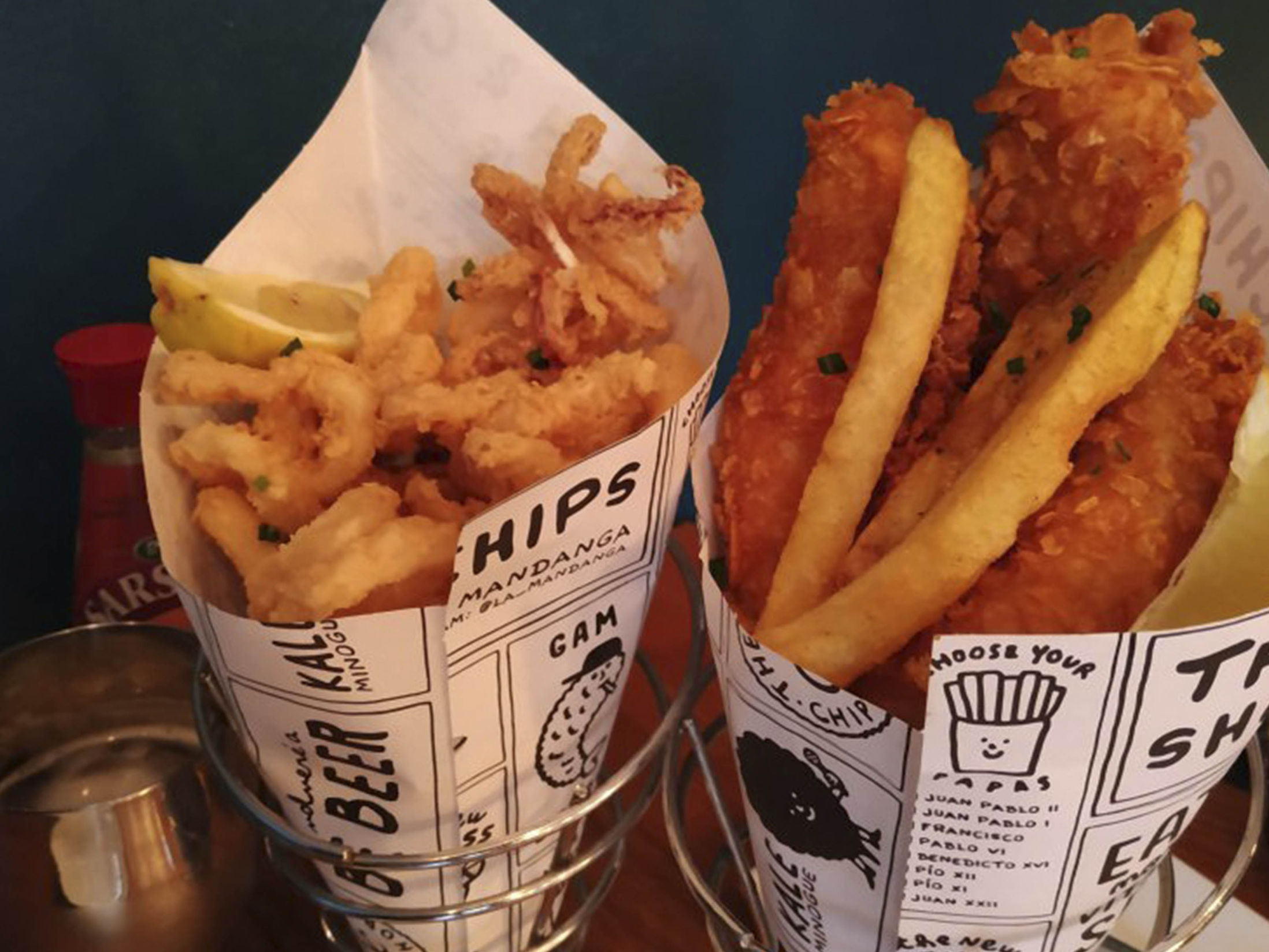 Best Restaurants in Barcelona - The Fish and Chips Shop