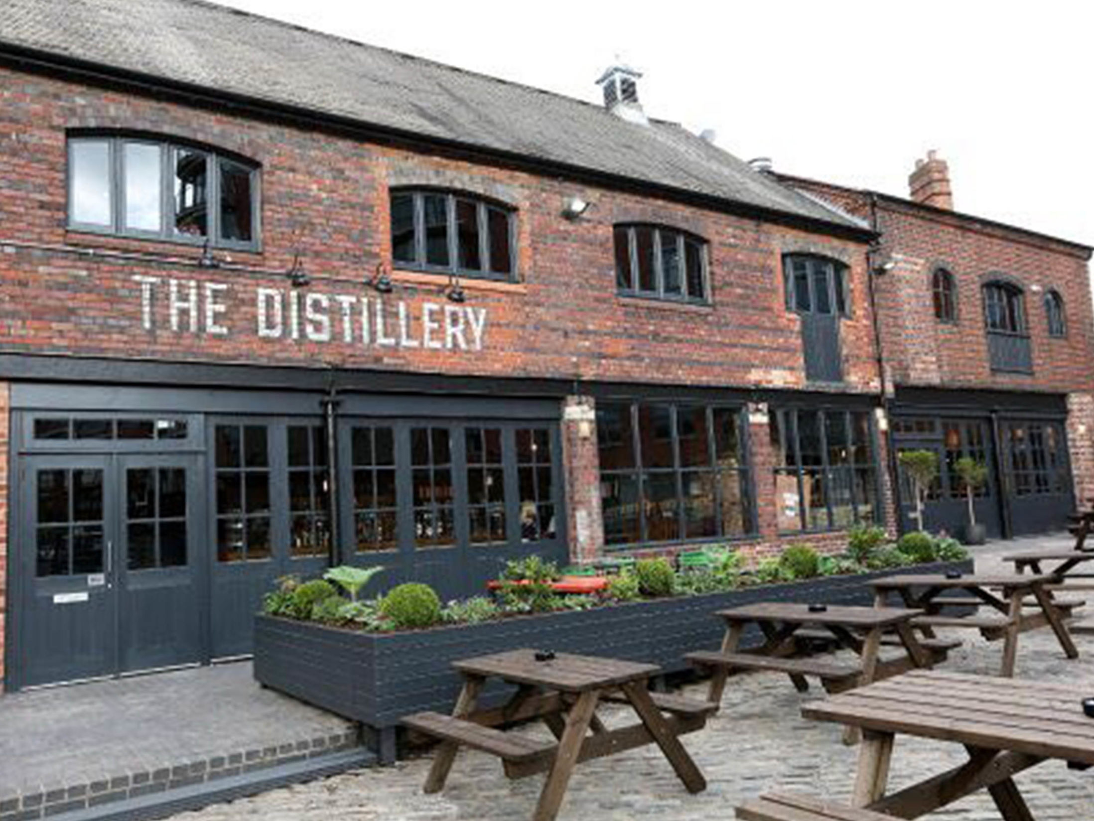 Birmingham Bars for a Working Lunch - The Distillery