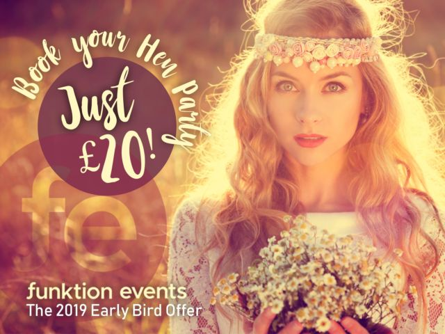 Book Your Hen Party with the Early Bird Offer