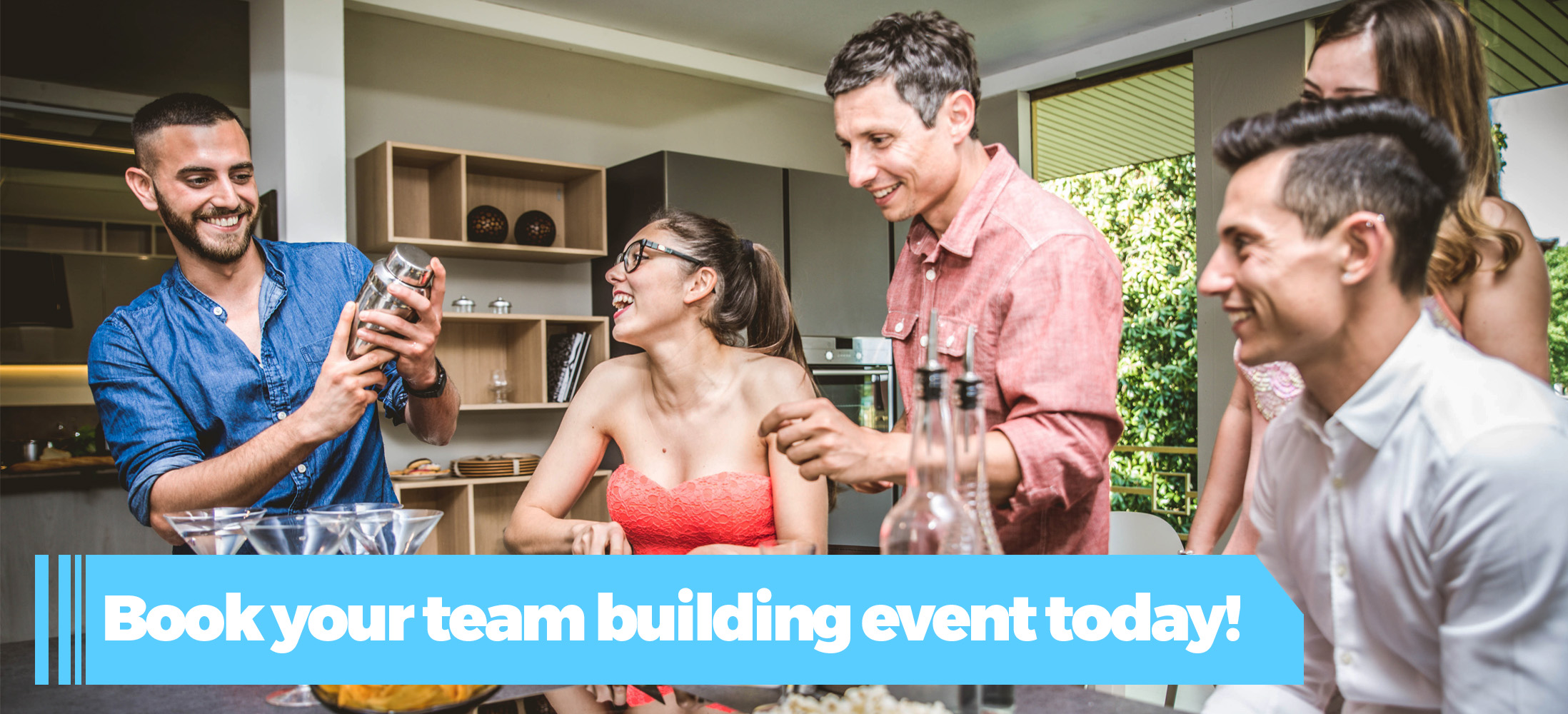 Book your Team Building Event Today!
