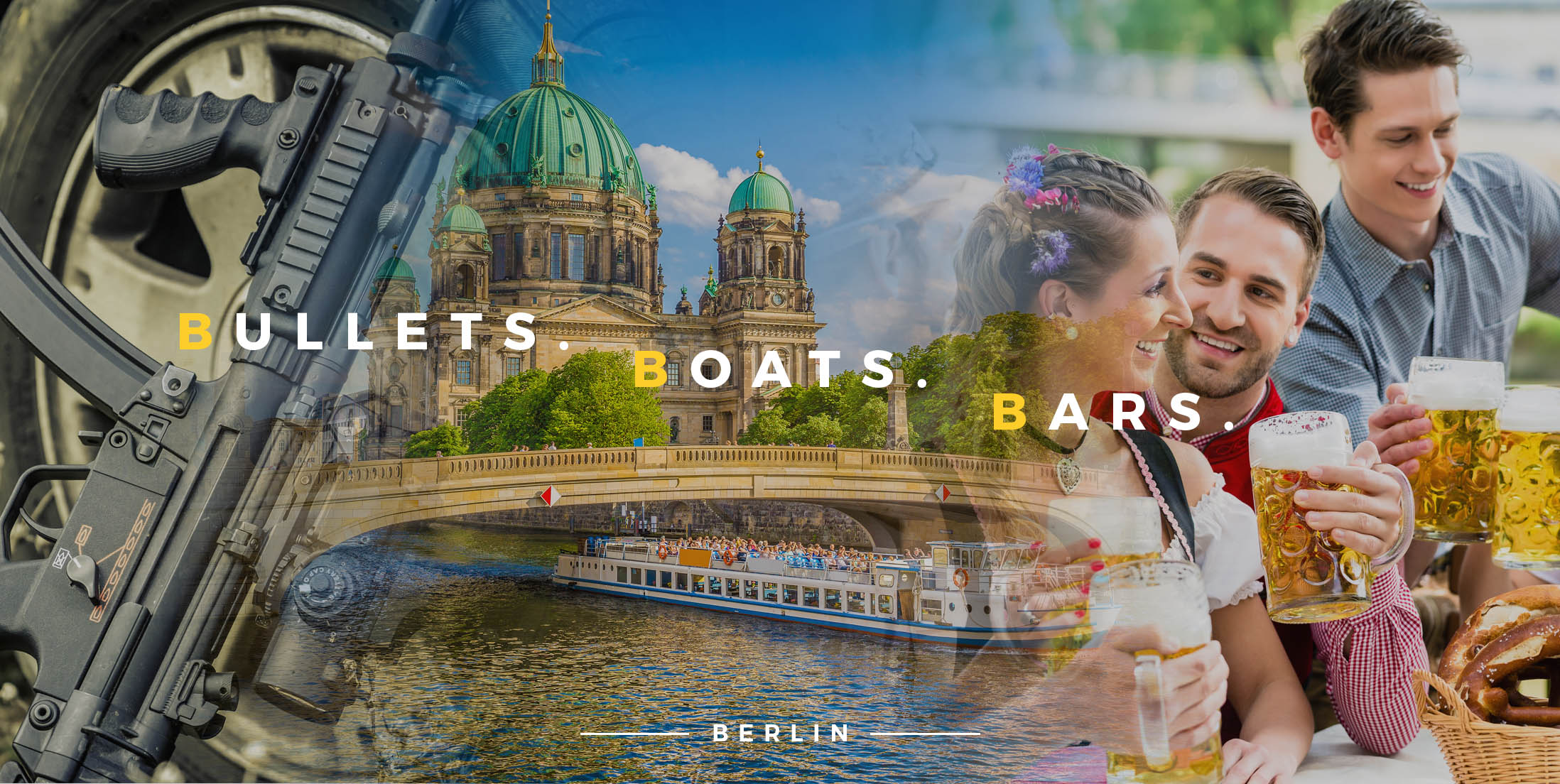 Bullets, Boats and Bars in Berlin