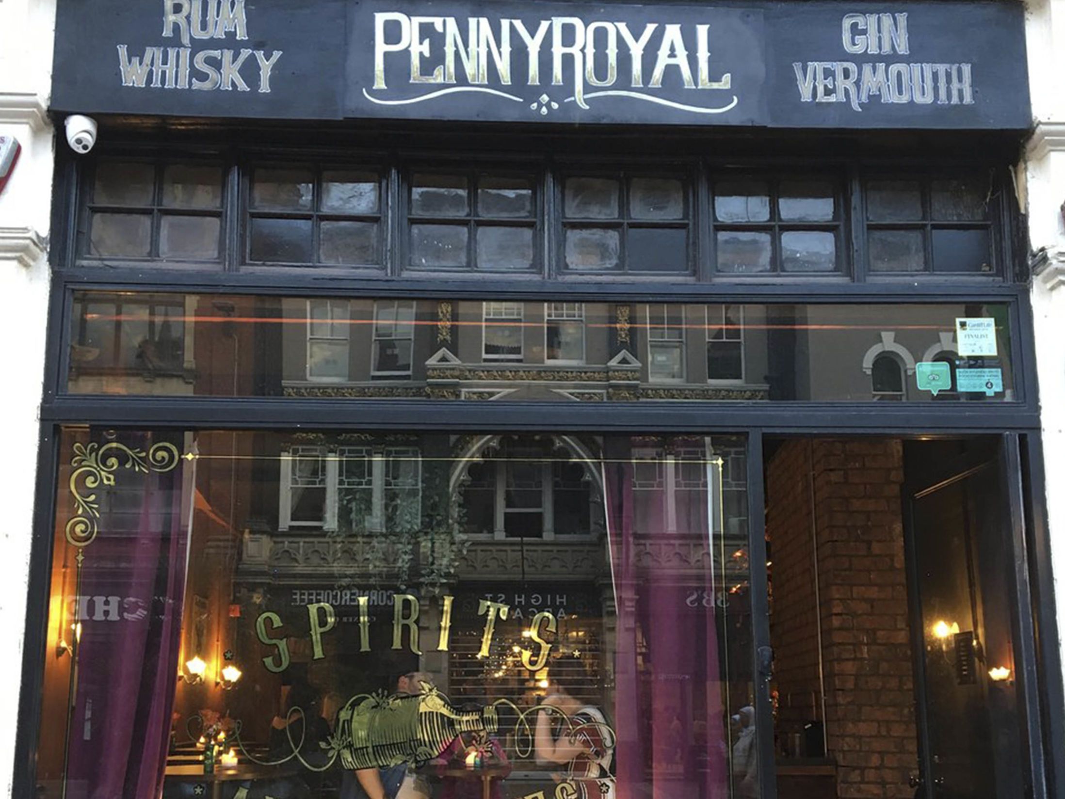 Cocktail Bars in Cardiff - Pennyroyal