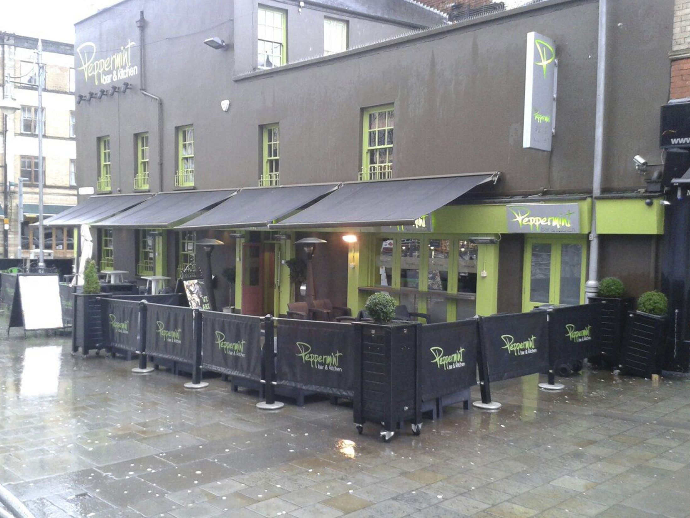 Cocktail Bars in Cardiff - Peppermint Bar