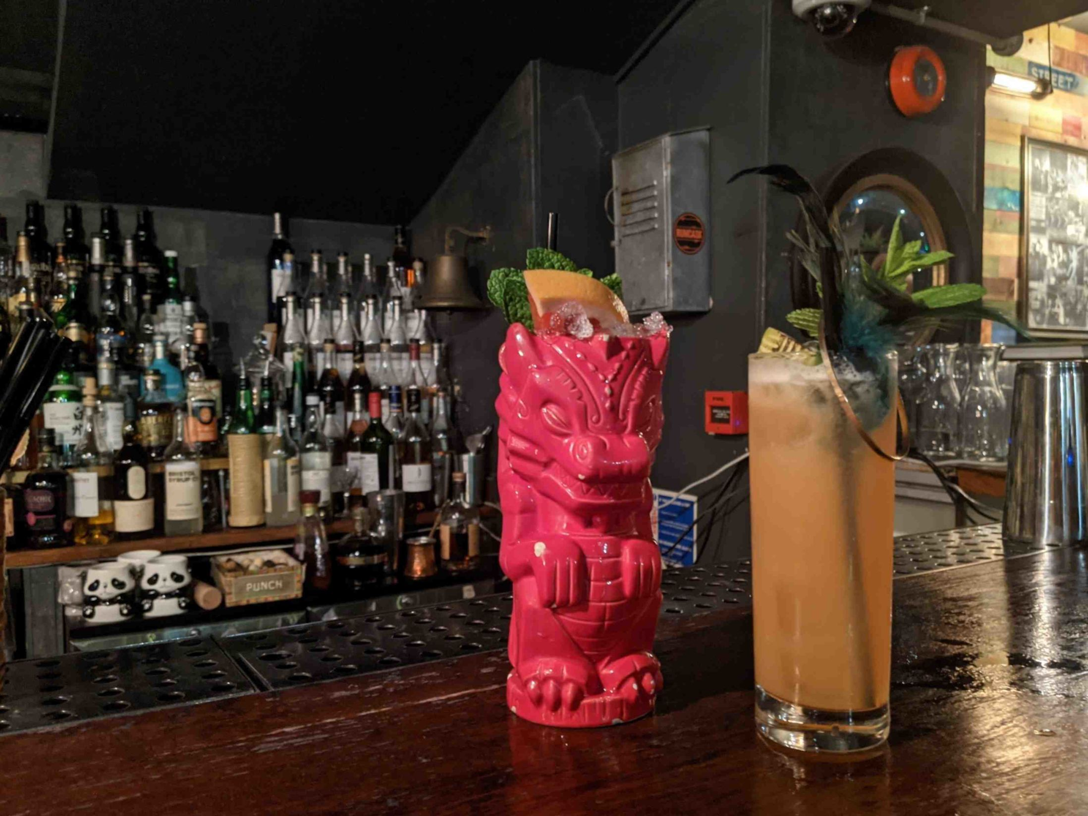 Cocktail Bars in Cardiff - The Dead Canary
