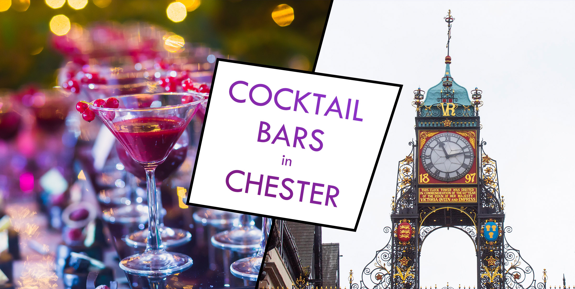 Cocktail Bars in Chester (Banner)