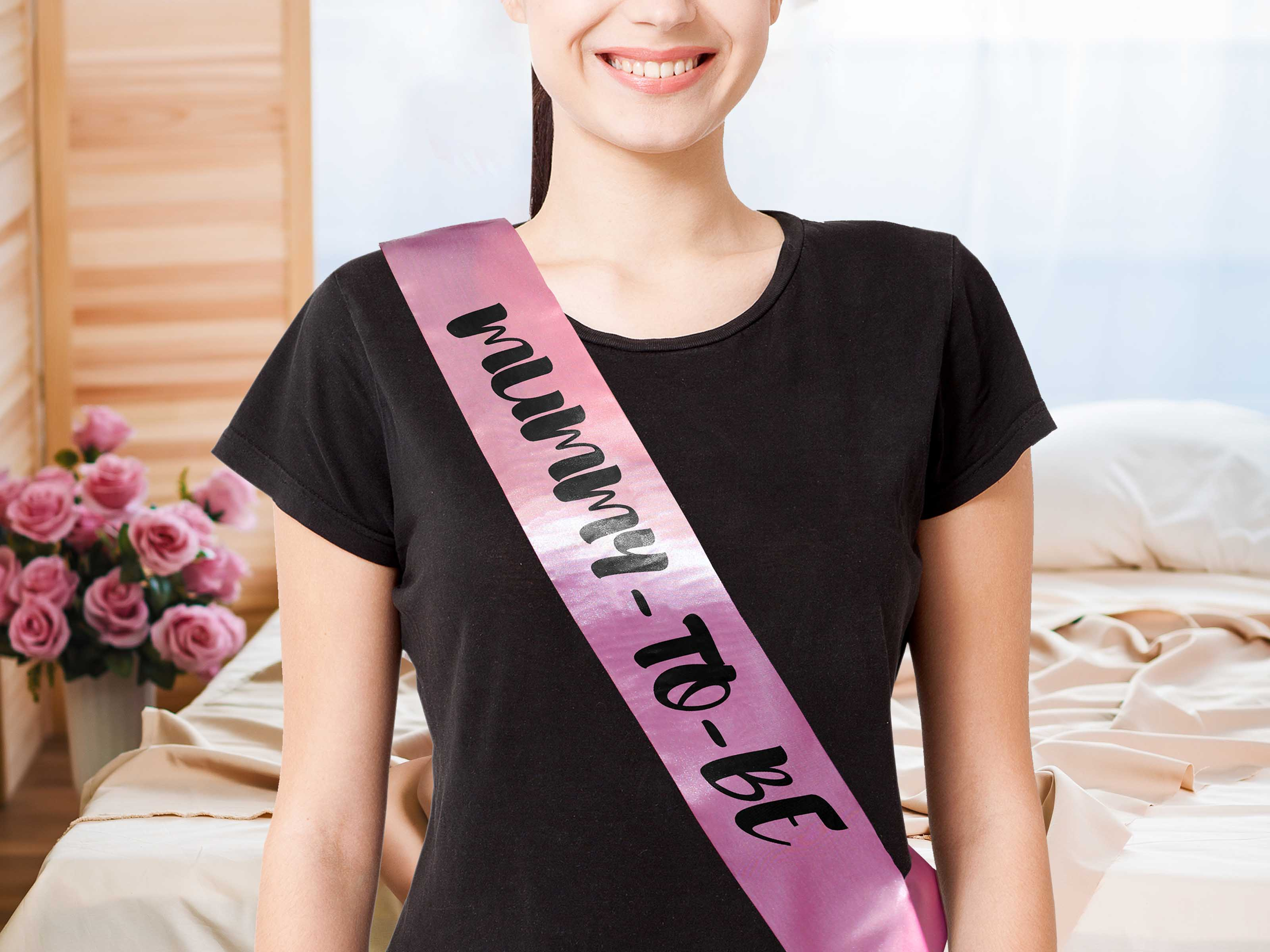 Mother-to-be Sash