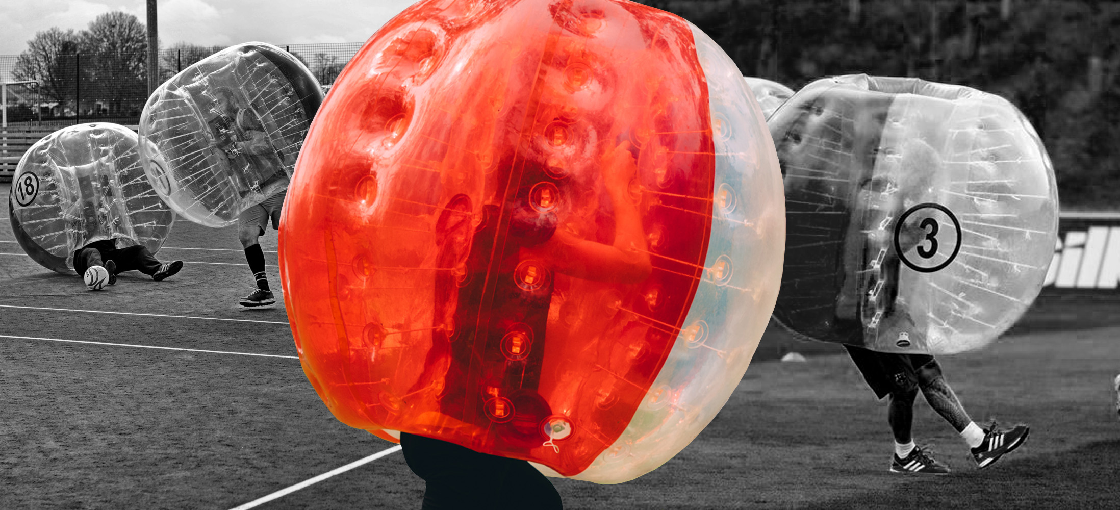 Hard to Please Grooms - Bubble Football