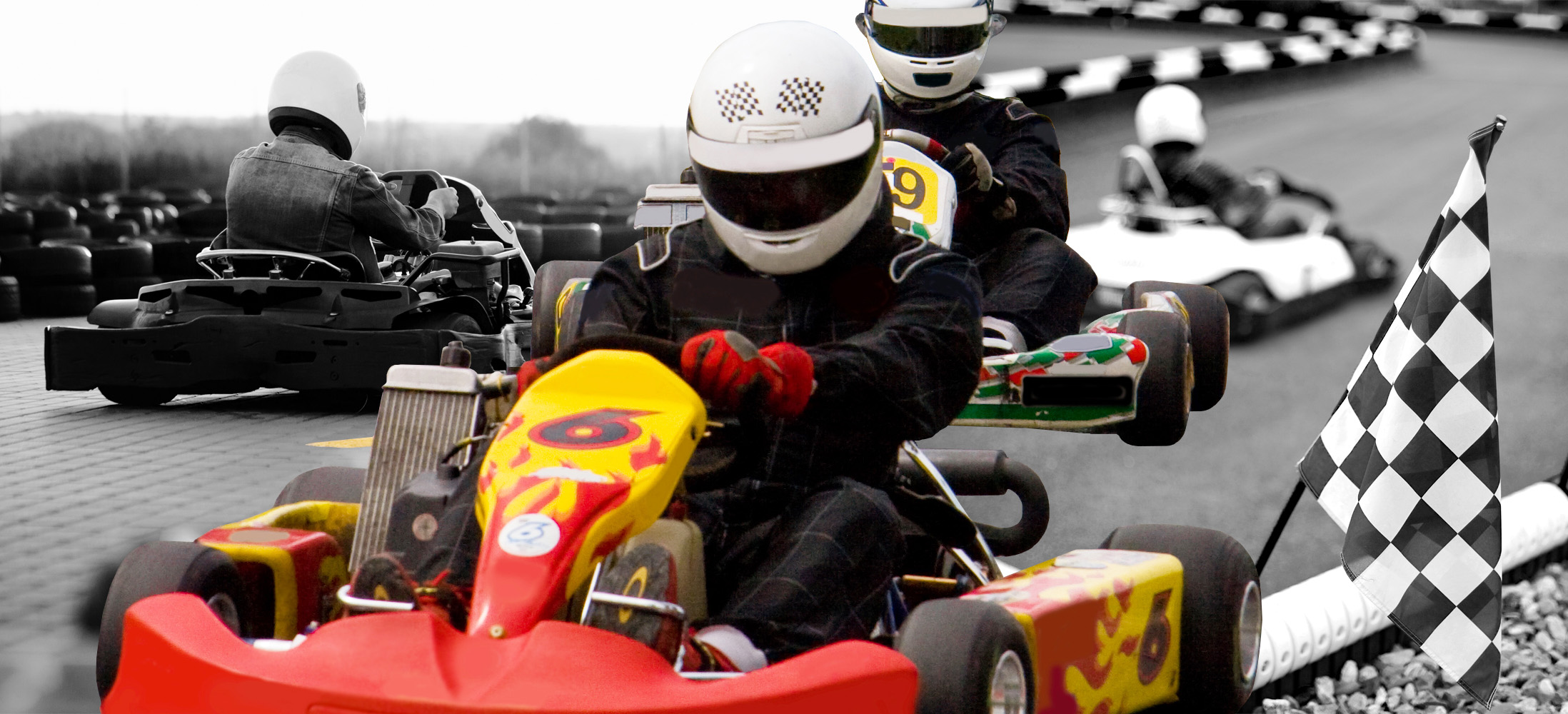 Hard to Please Grooms - Go Karting