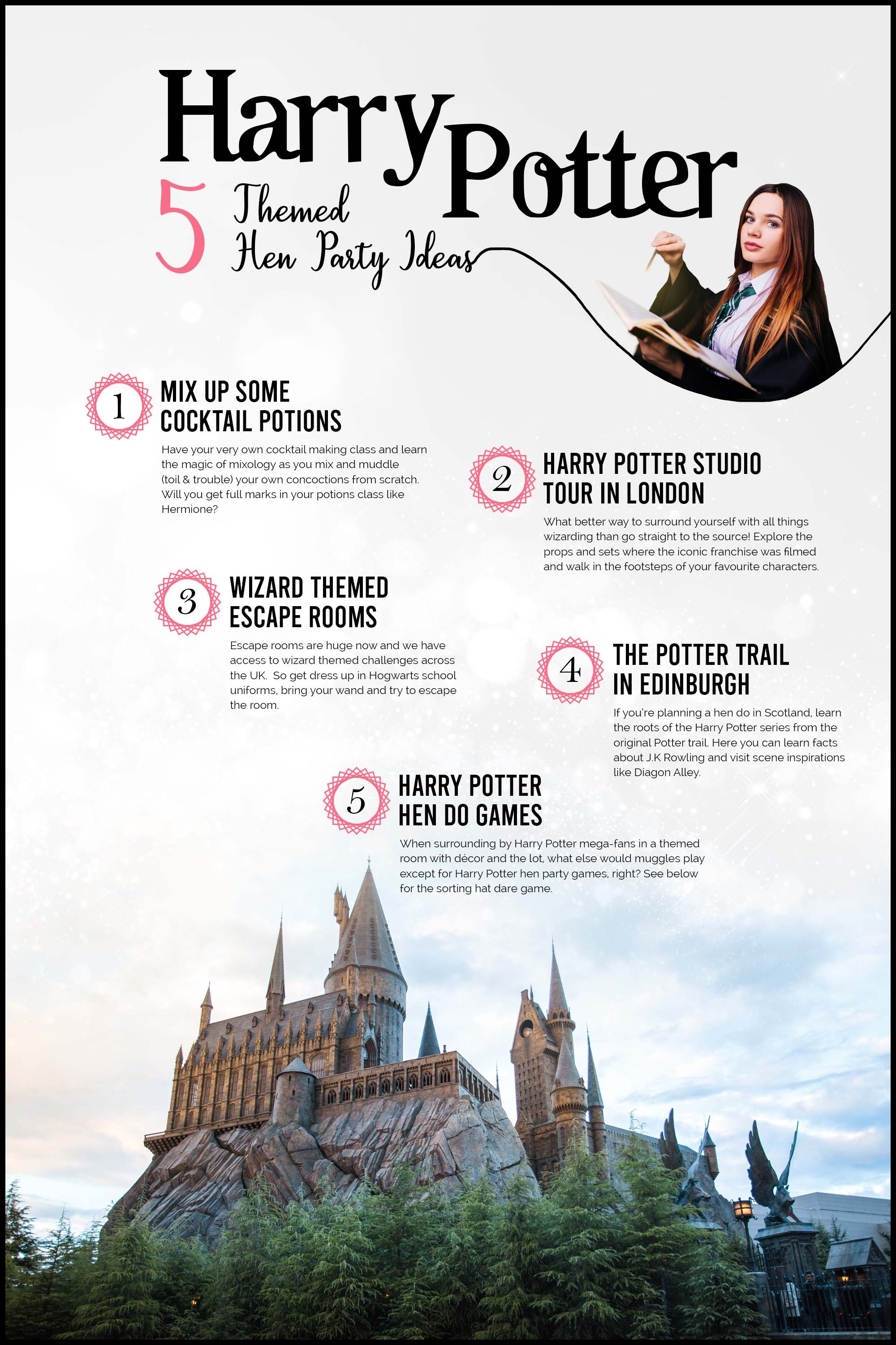 Harry Potter Themed Hen Party Ideas