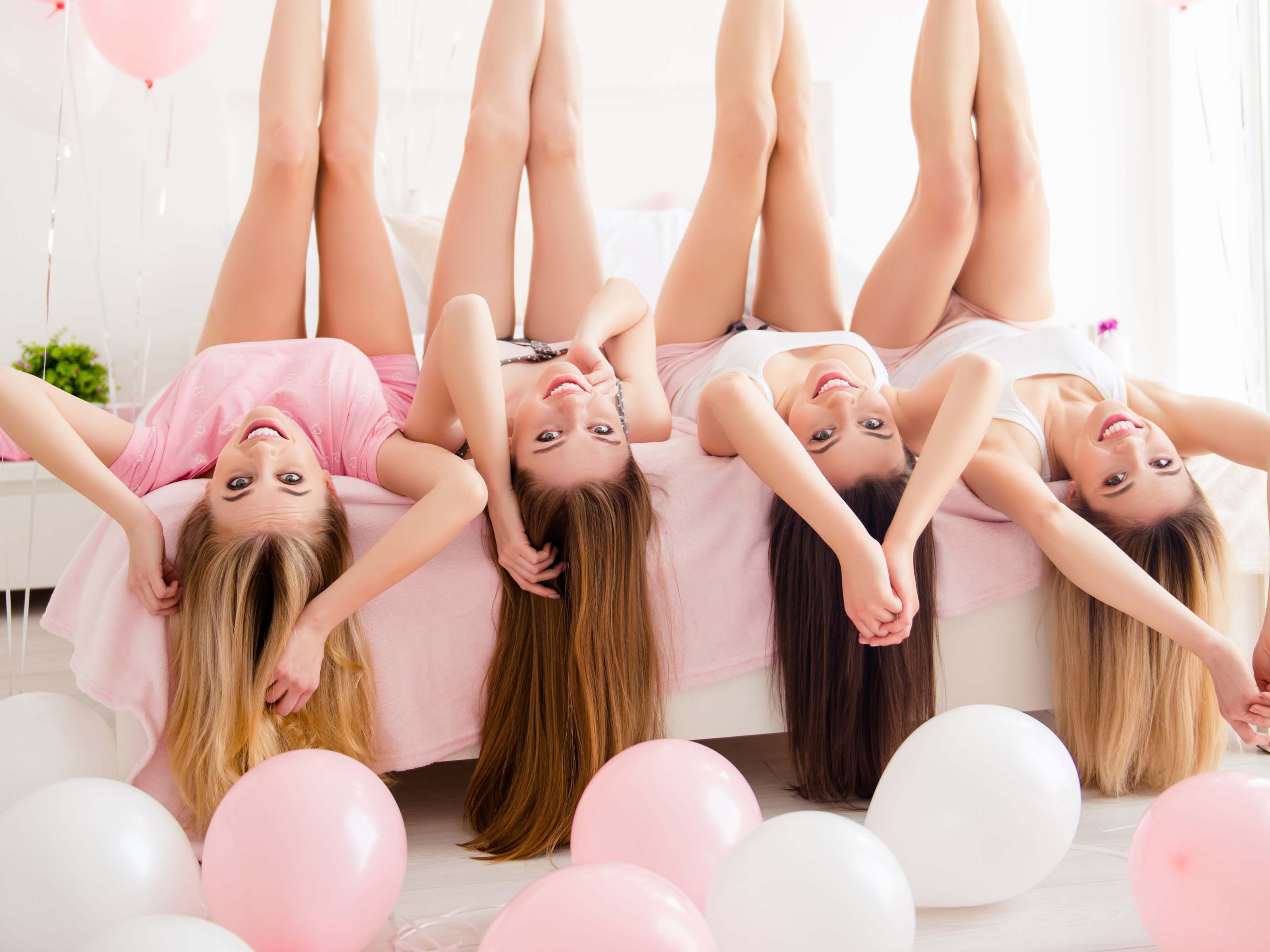 Hen Party Ideas for Pregnant Brides Pyjama Party