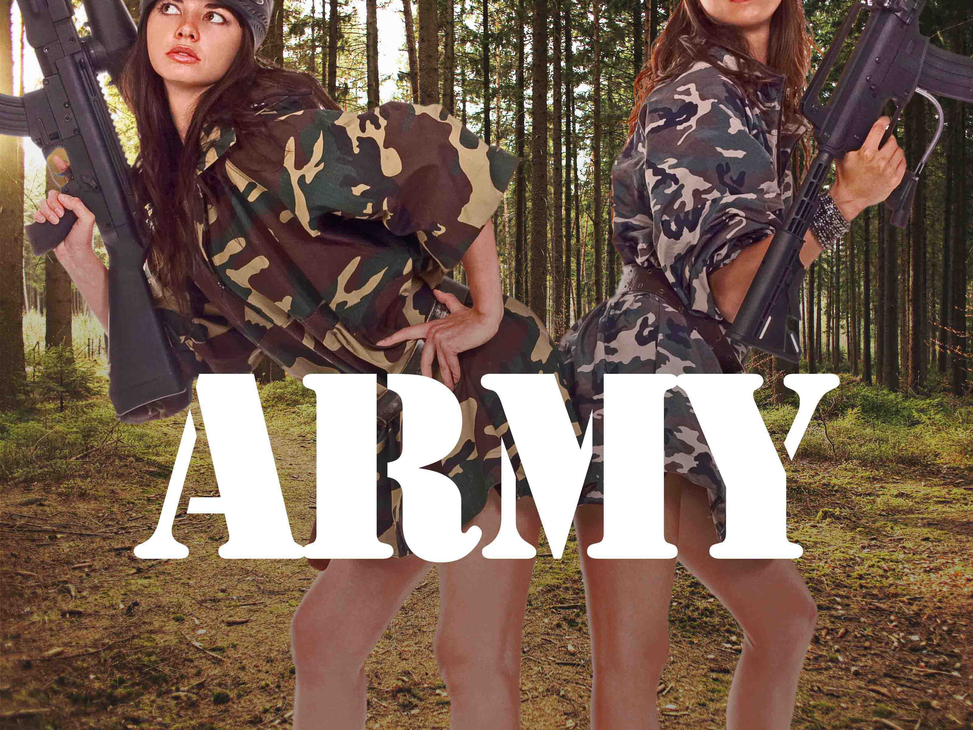 Hen Party Themes - Army