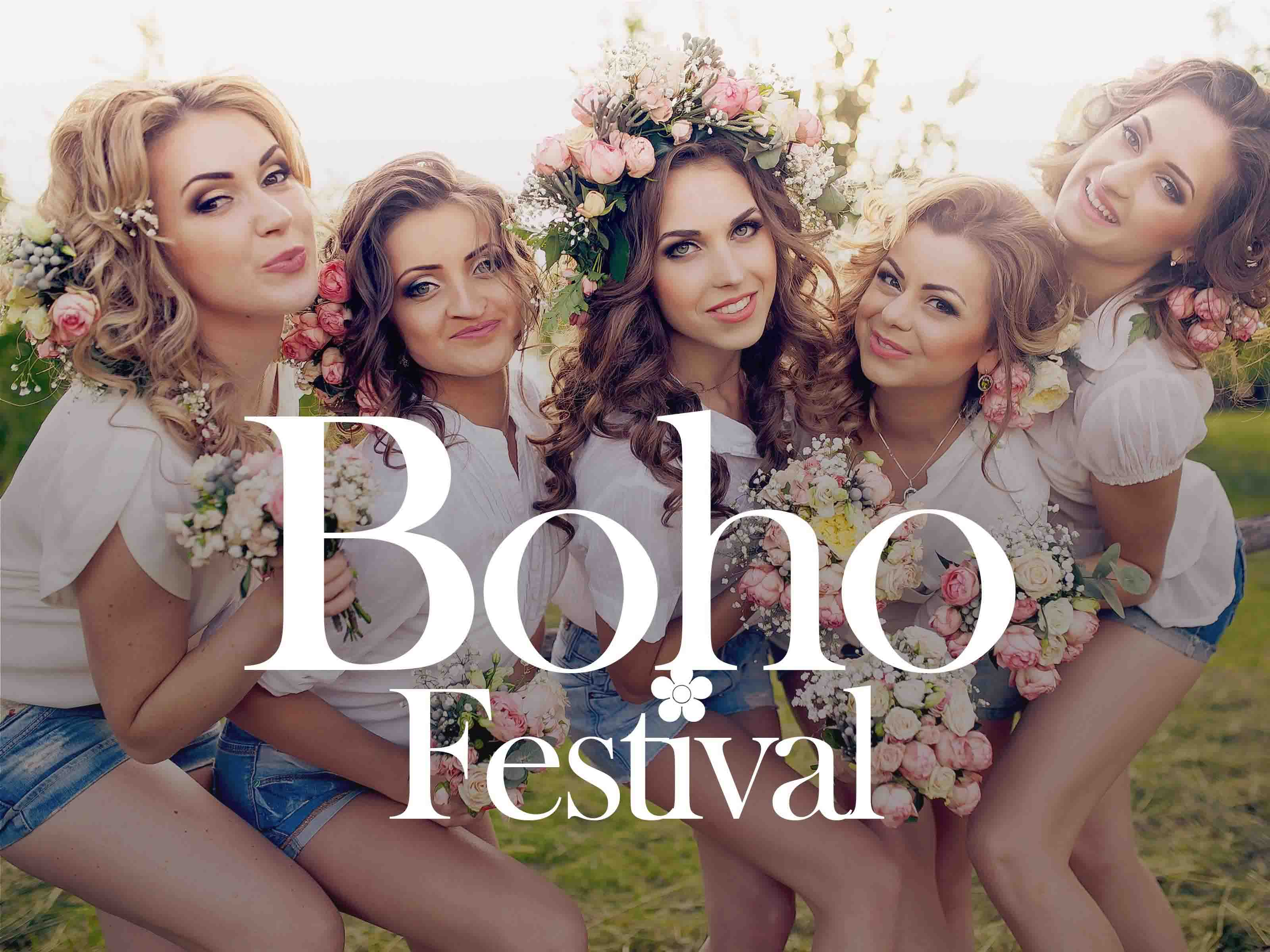 Hen Party Themes - Boho Festival