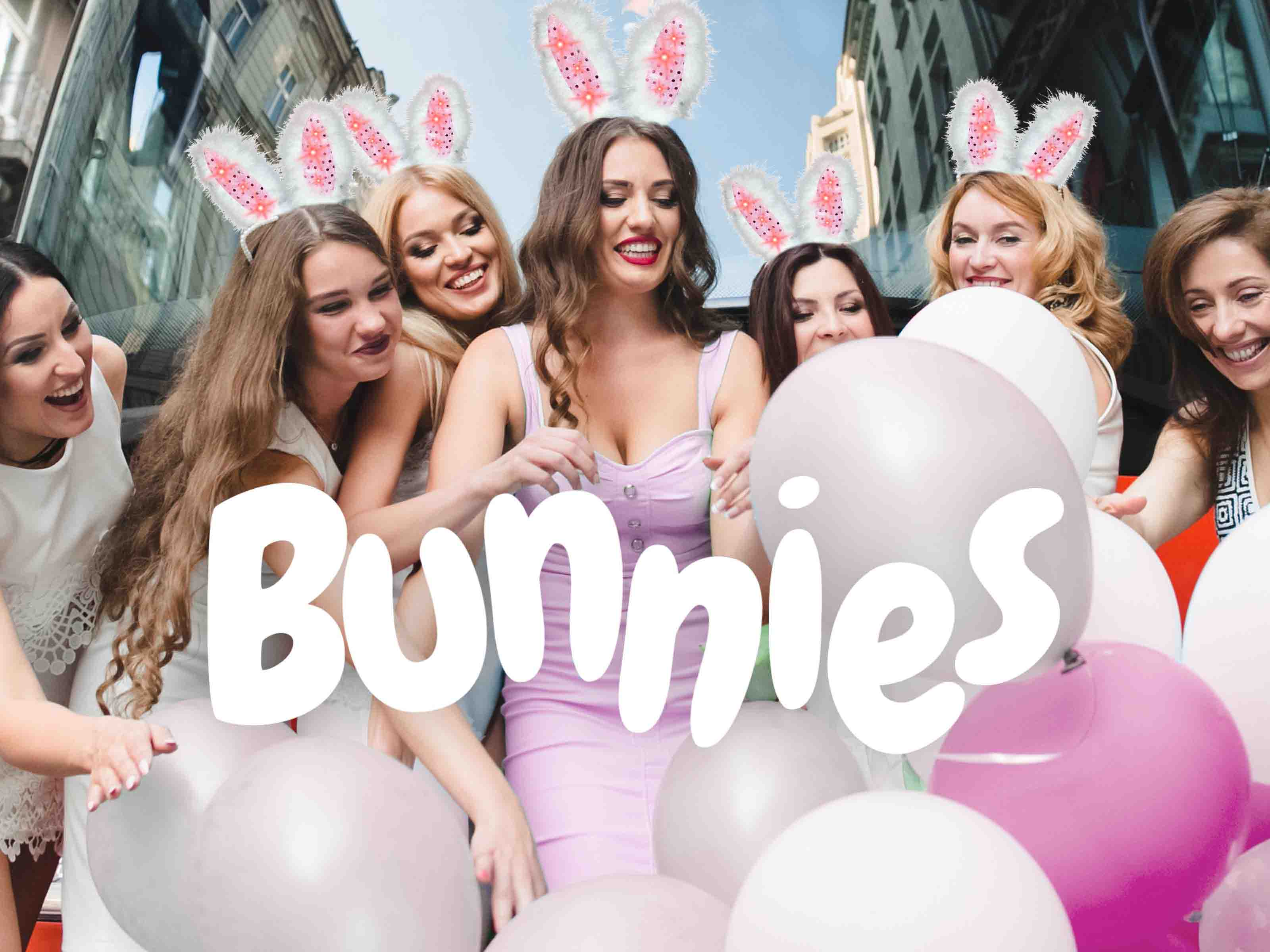 Hen Party Themes - Bunnies
