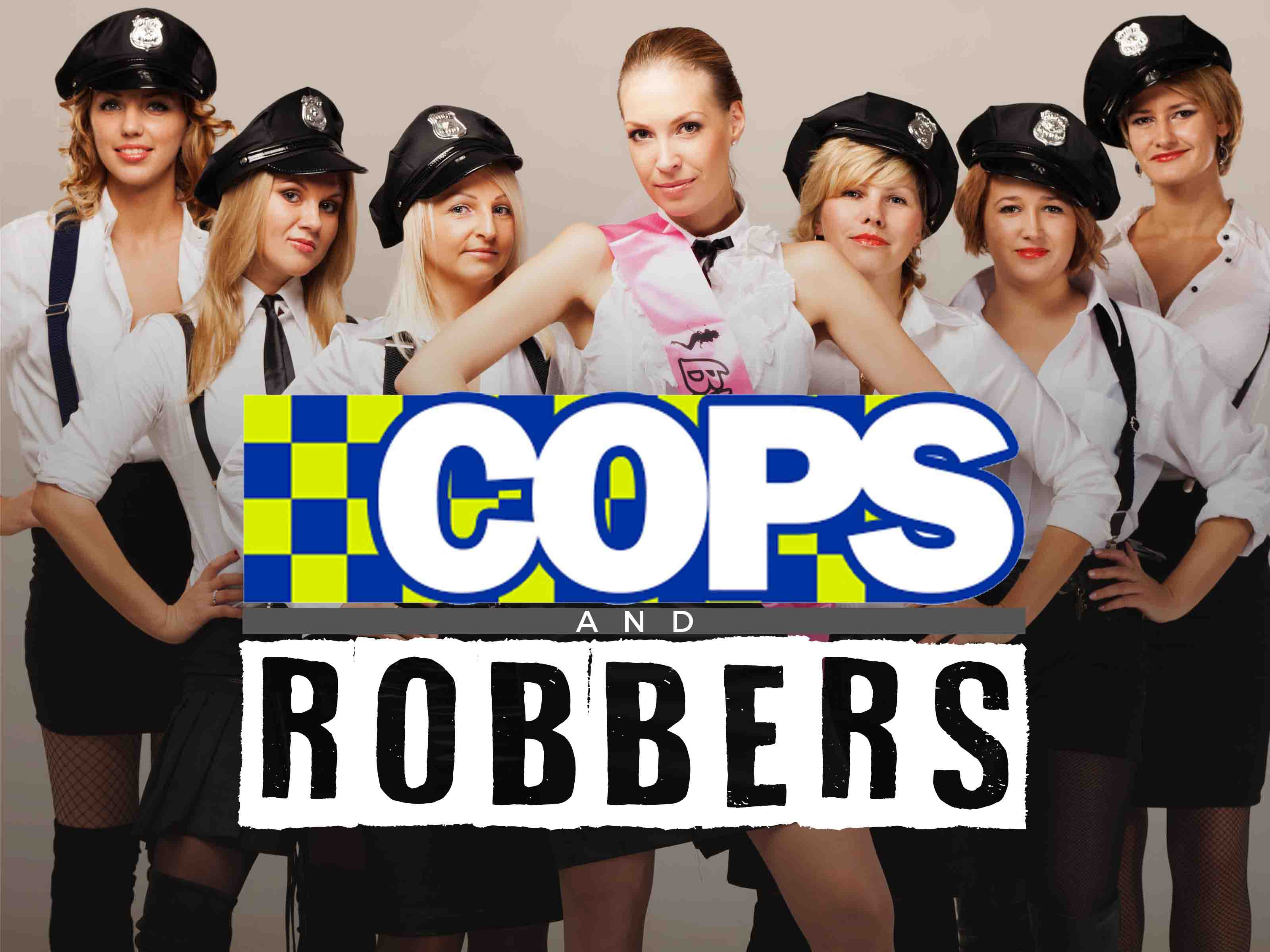 Hen Party Themes - Cops & Robbers