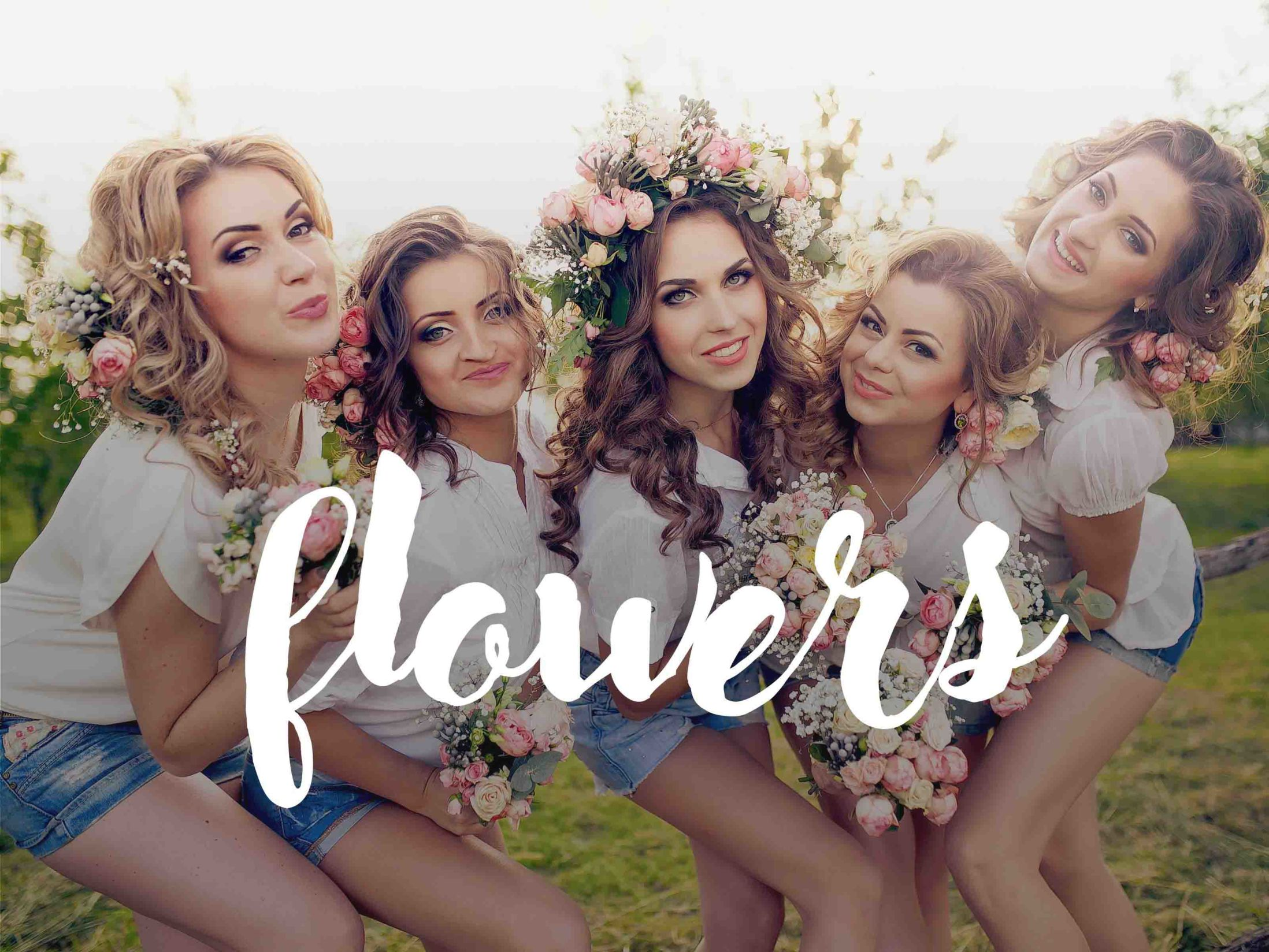 Flowers Hen Do Themes