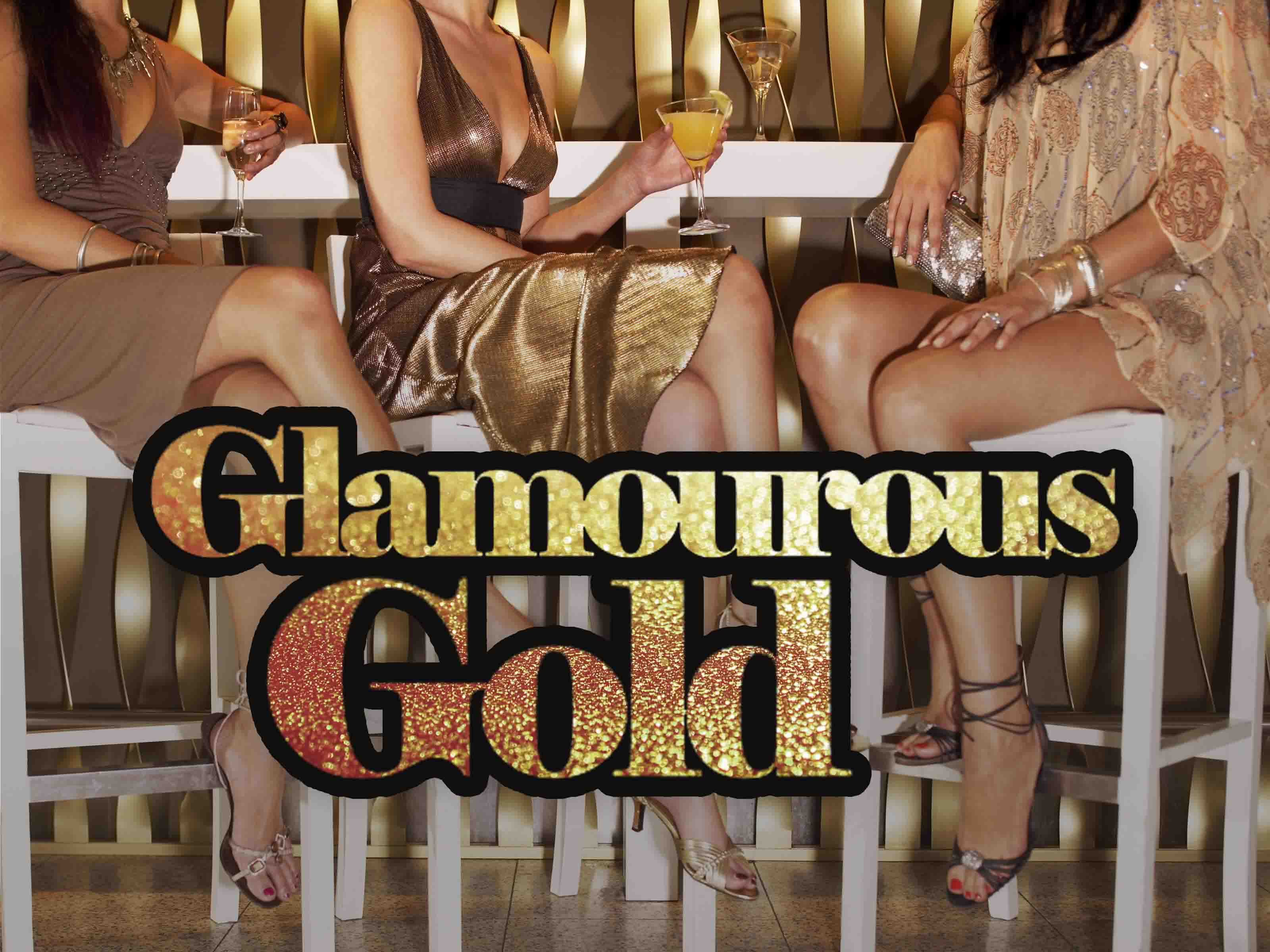 Hen Party Themes - Glamourous Gold