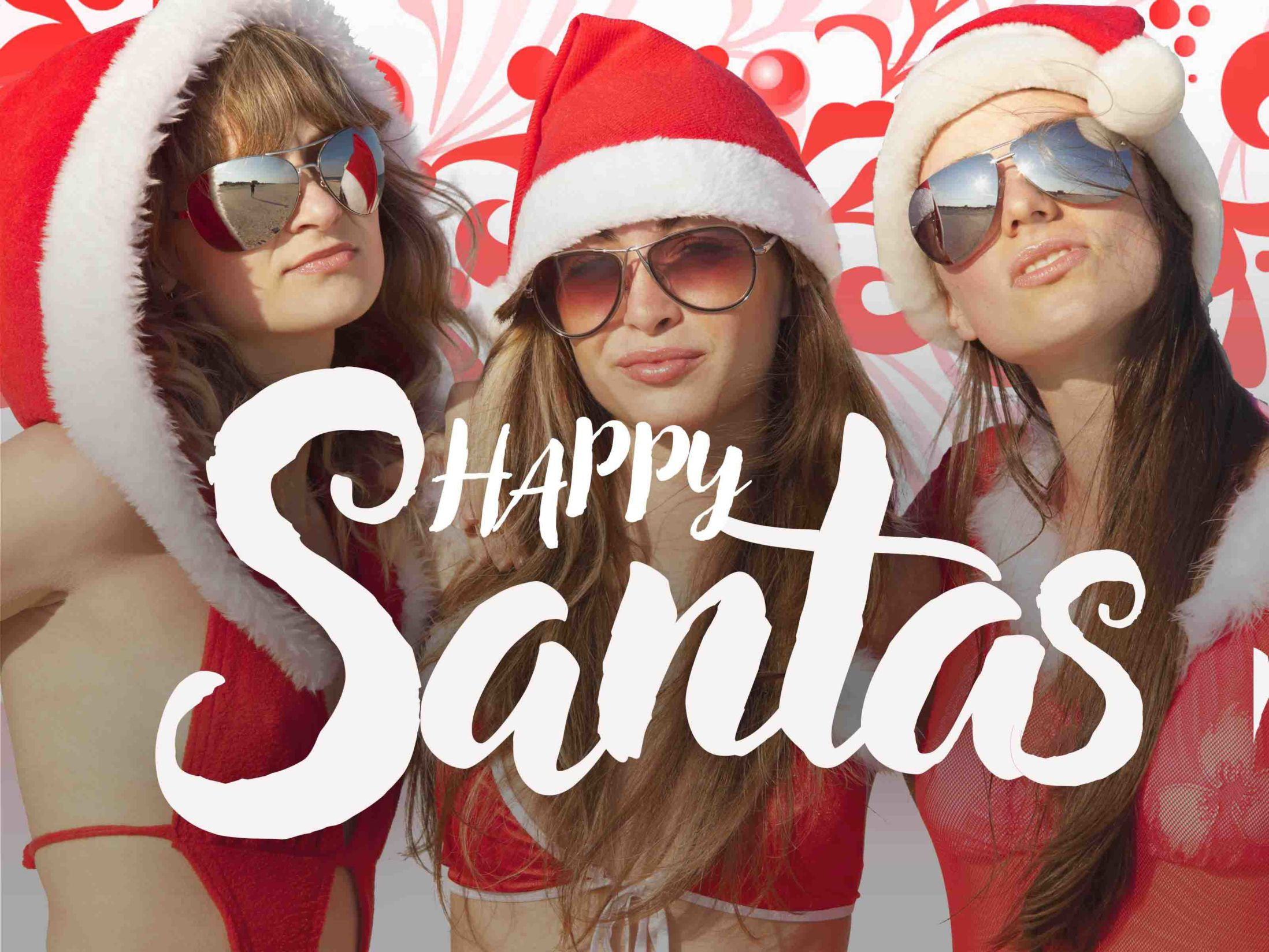 Christmas Theme - Happy Santas