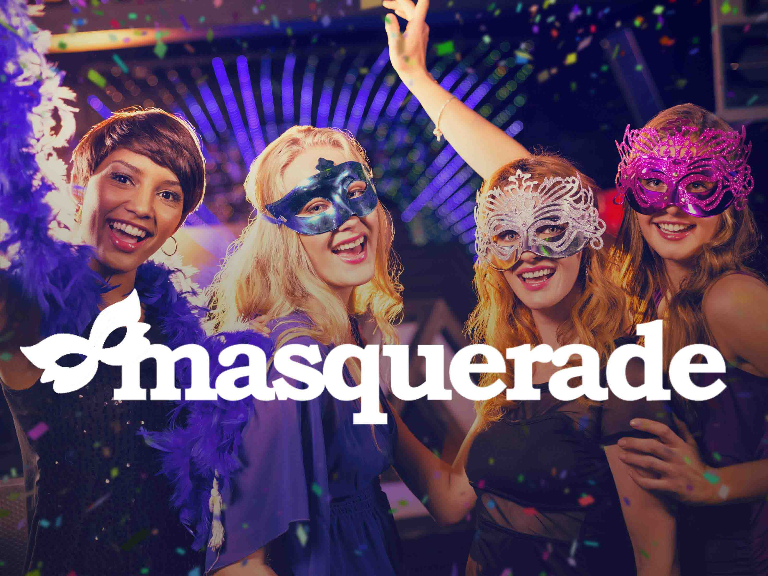 Hen Party Themes - Masquerade