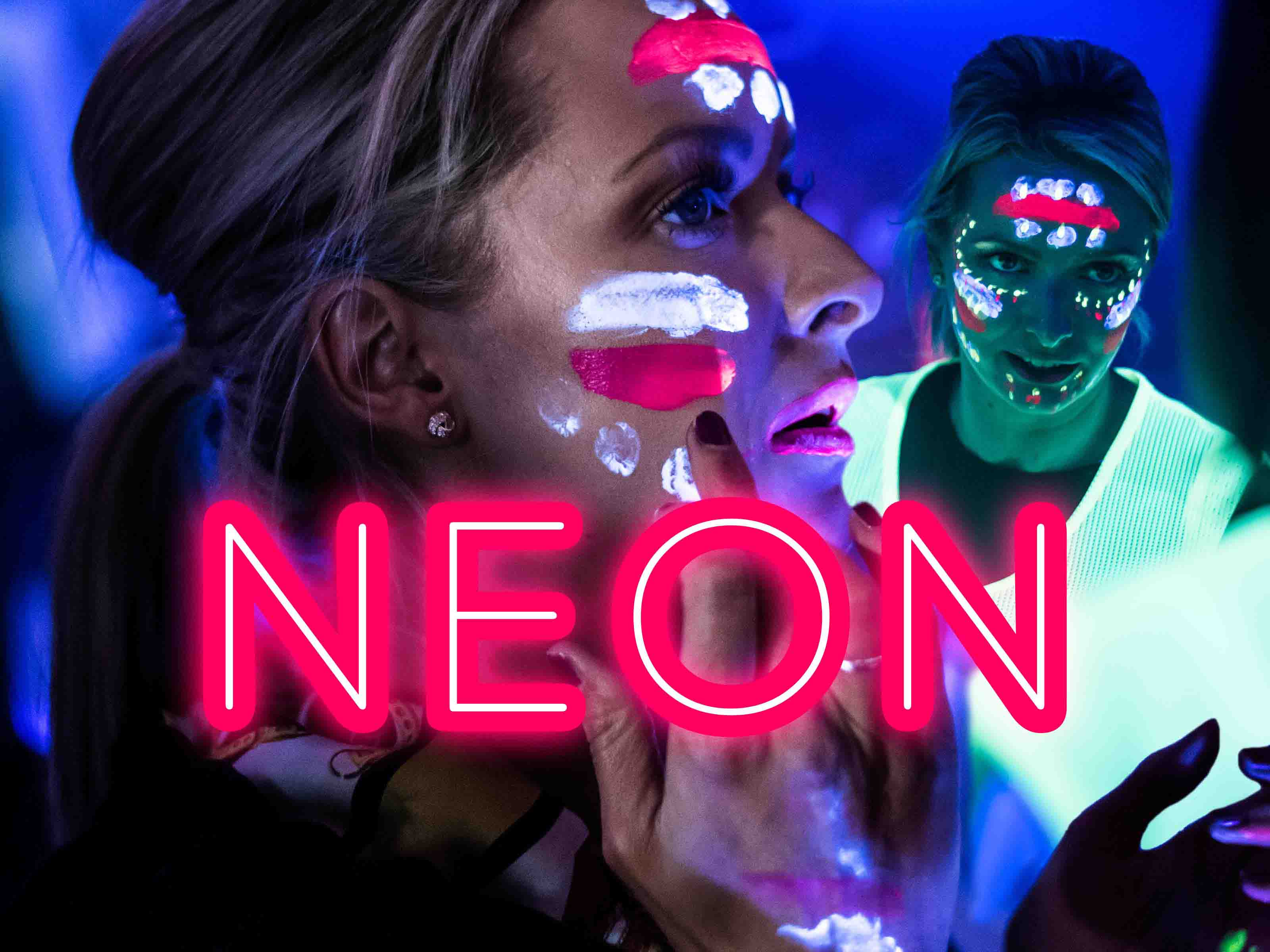Hen Party Themes - Neon
