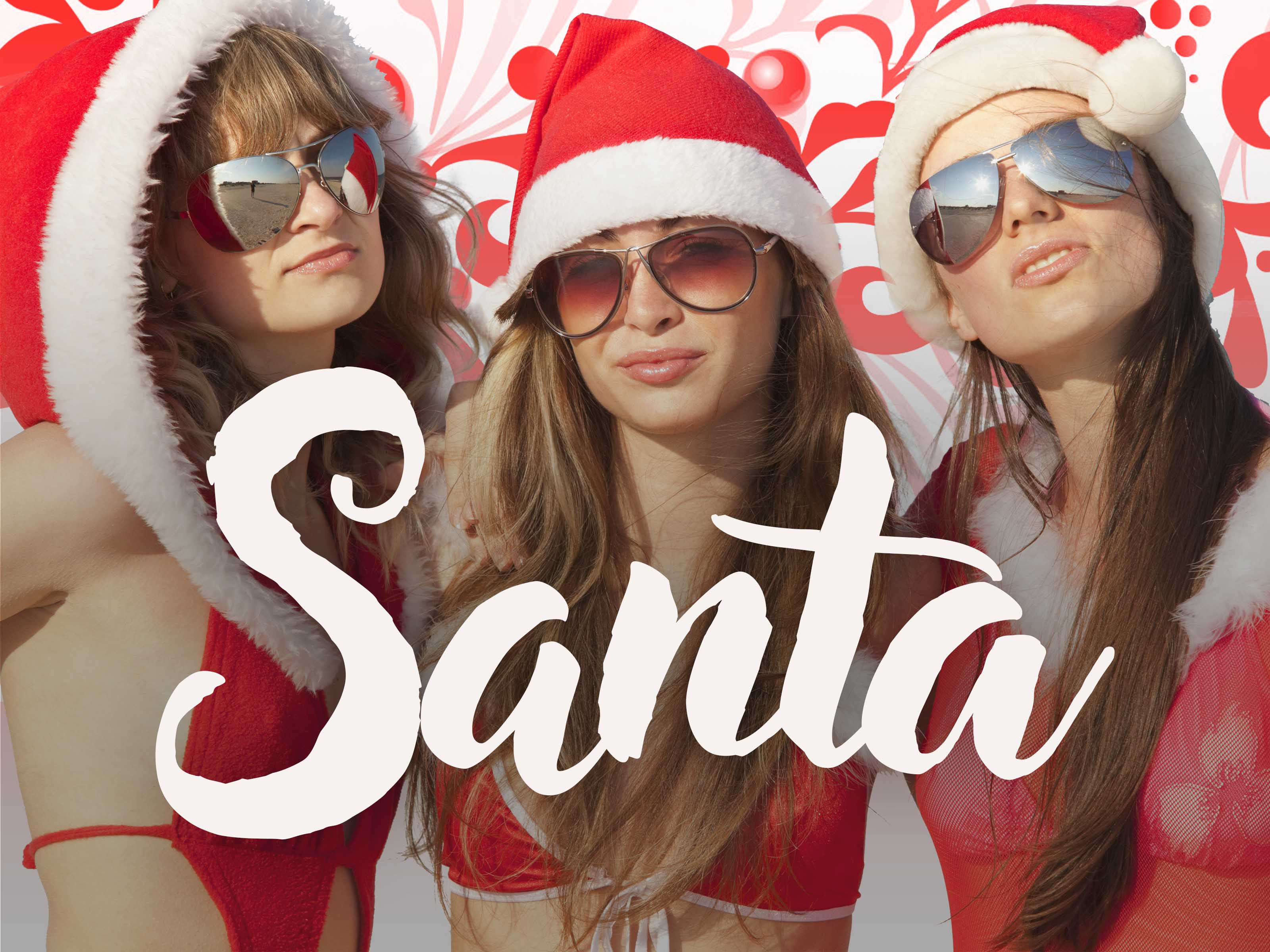 Hen Party Themes - Santa
