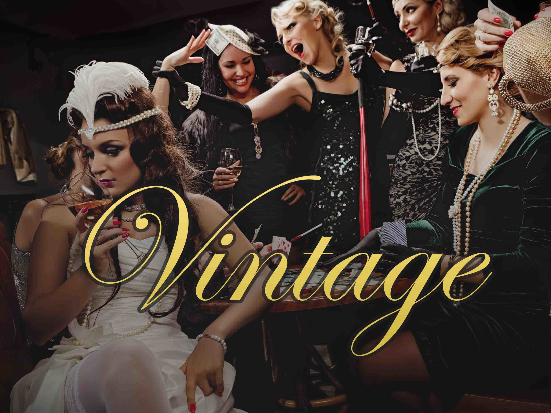 Vintage Classy Hen Party Themes