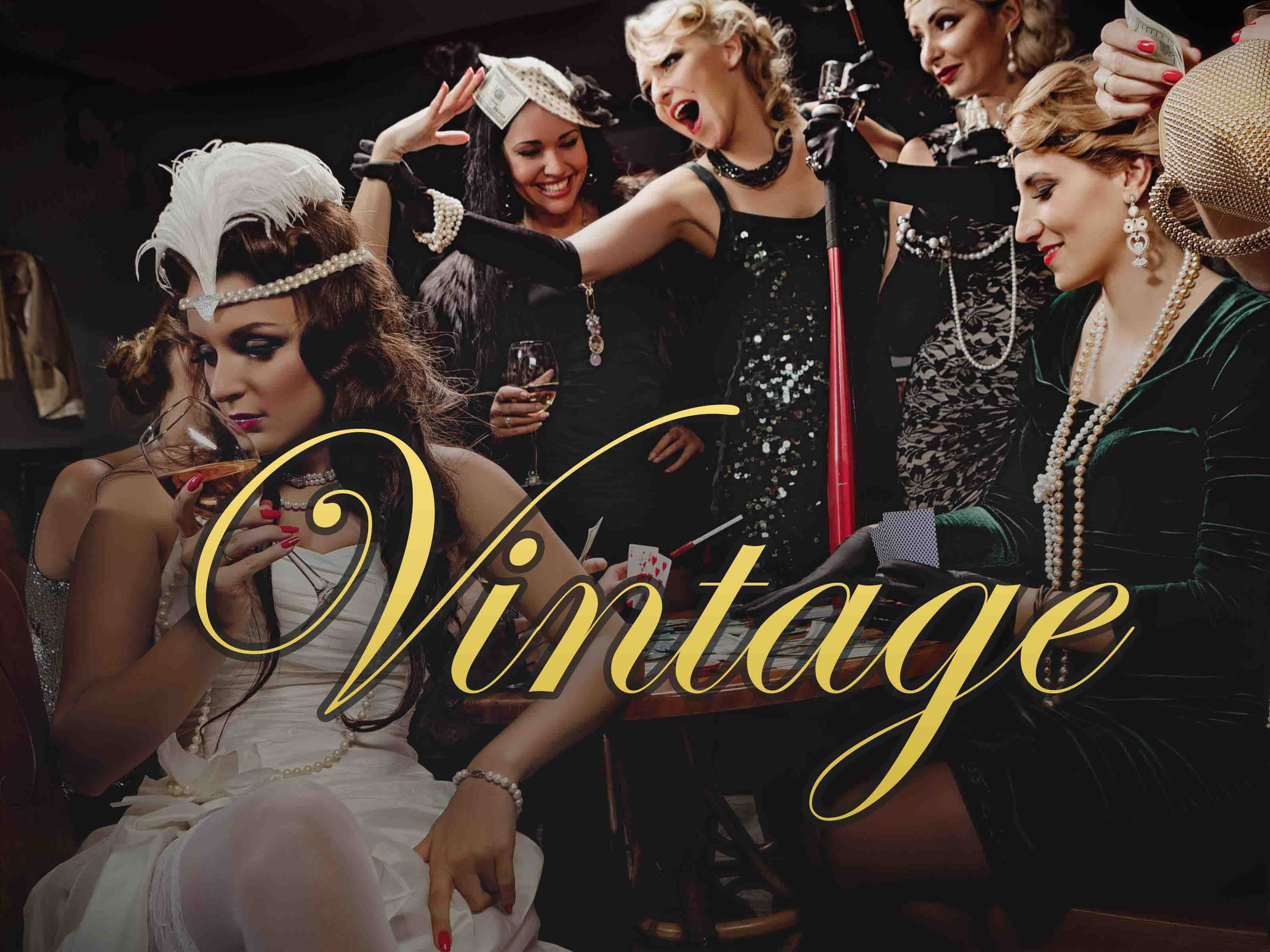 Hen Party Themes - Vintage