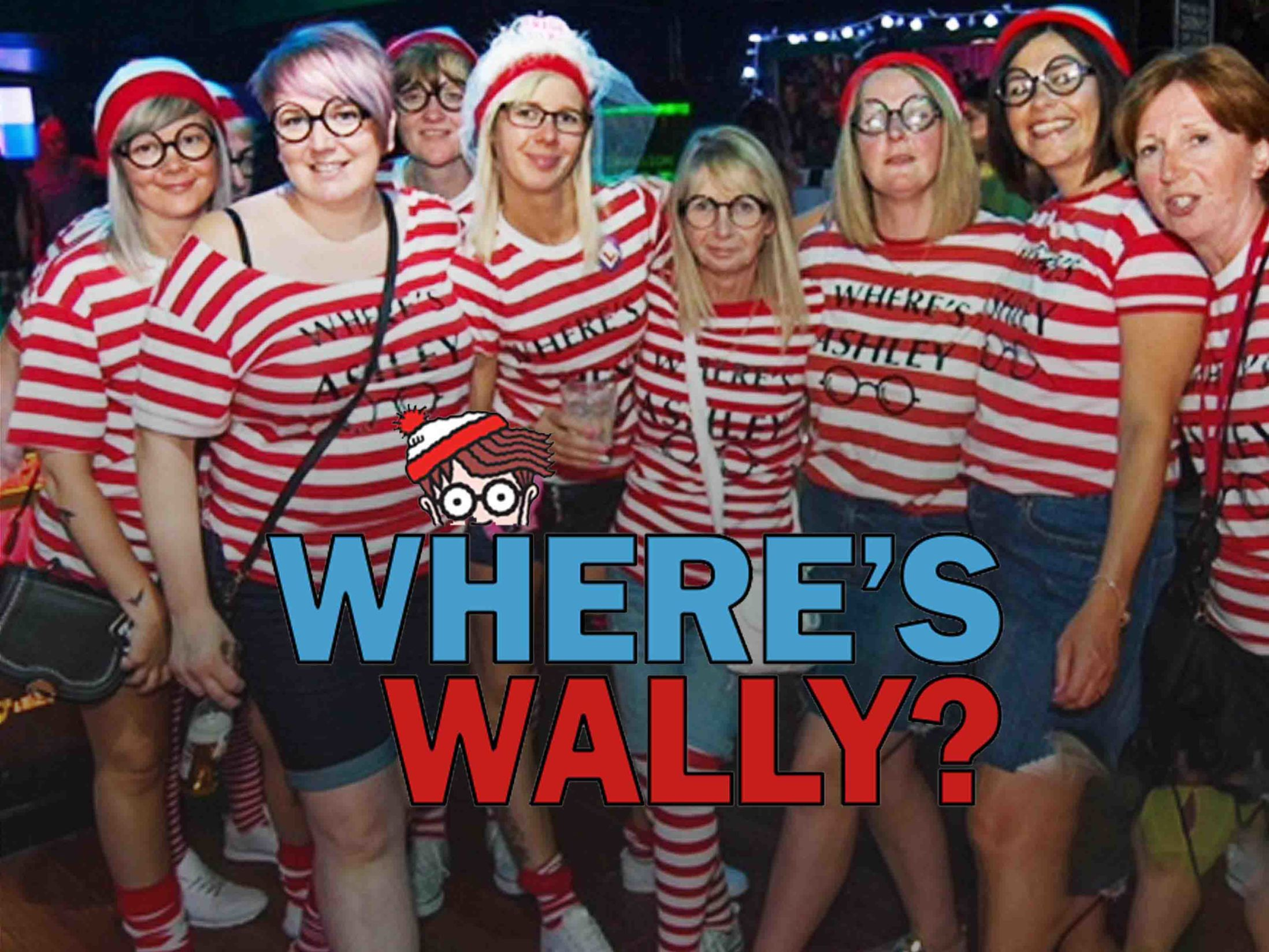 Where's Wally Hen Do Theme
