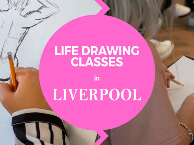 Life Art Drawing Classes in Liverpool