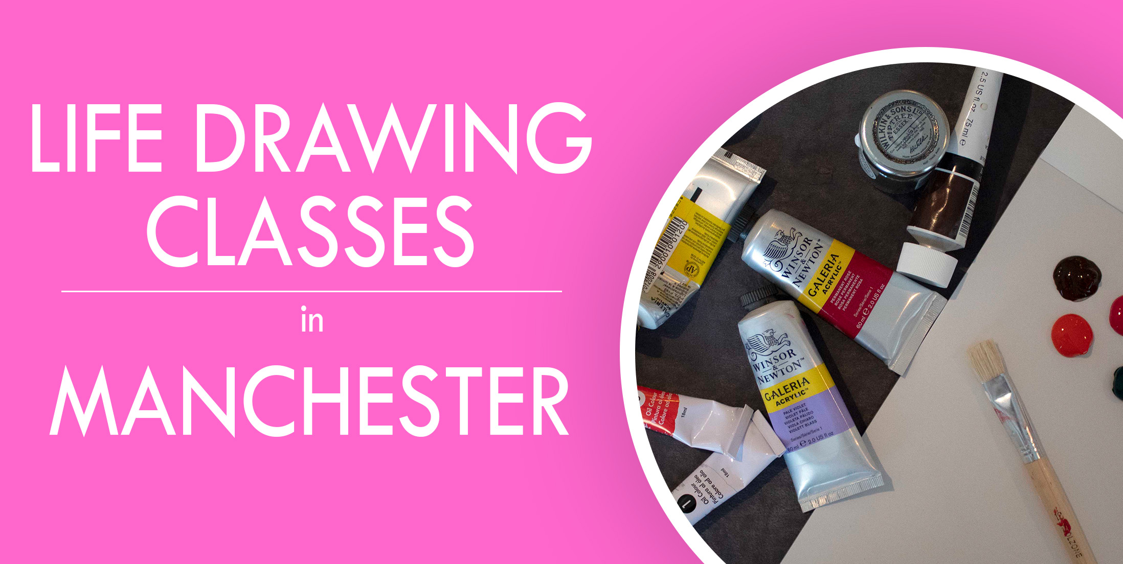 Life Drawing Art Classes in Manchester